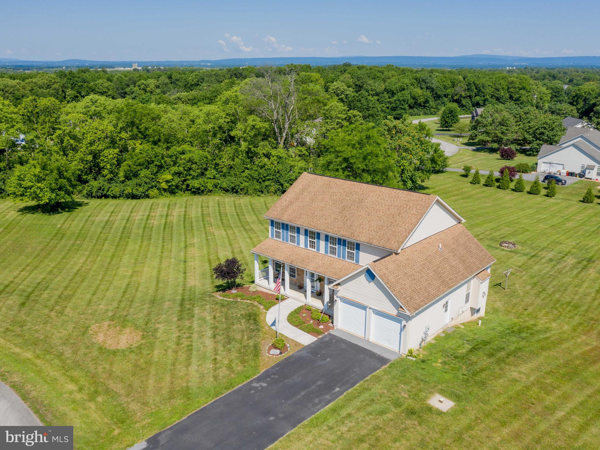 So many great features bundled into one home! Enjoy living in a country setting with gorgeous views