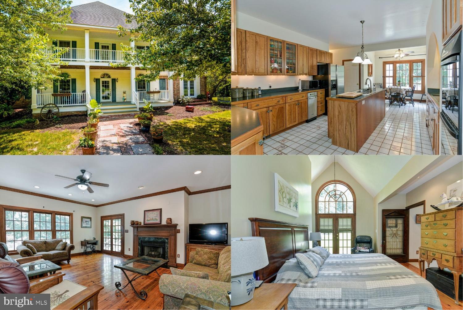 Private (not seen from road) 3 bedroom 2.5 Bath Colonial. ~Original owners, Stephens Run runs throug