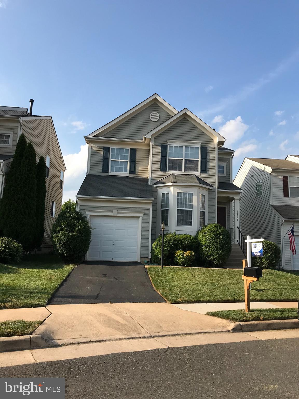 Nice 3 bedroom 2.5 bathroom colonial home conveniently located near I-66 and Rt. 15, shopping center