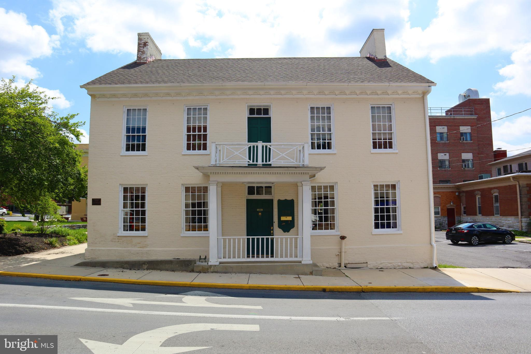 A rare chance to own a piece of Martinsburg history! The Historic Boarman House is situated in the h