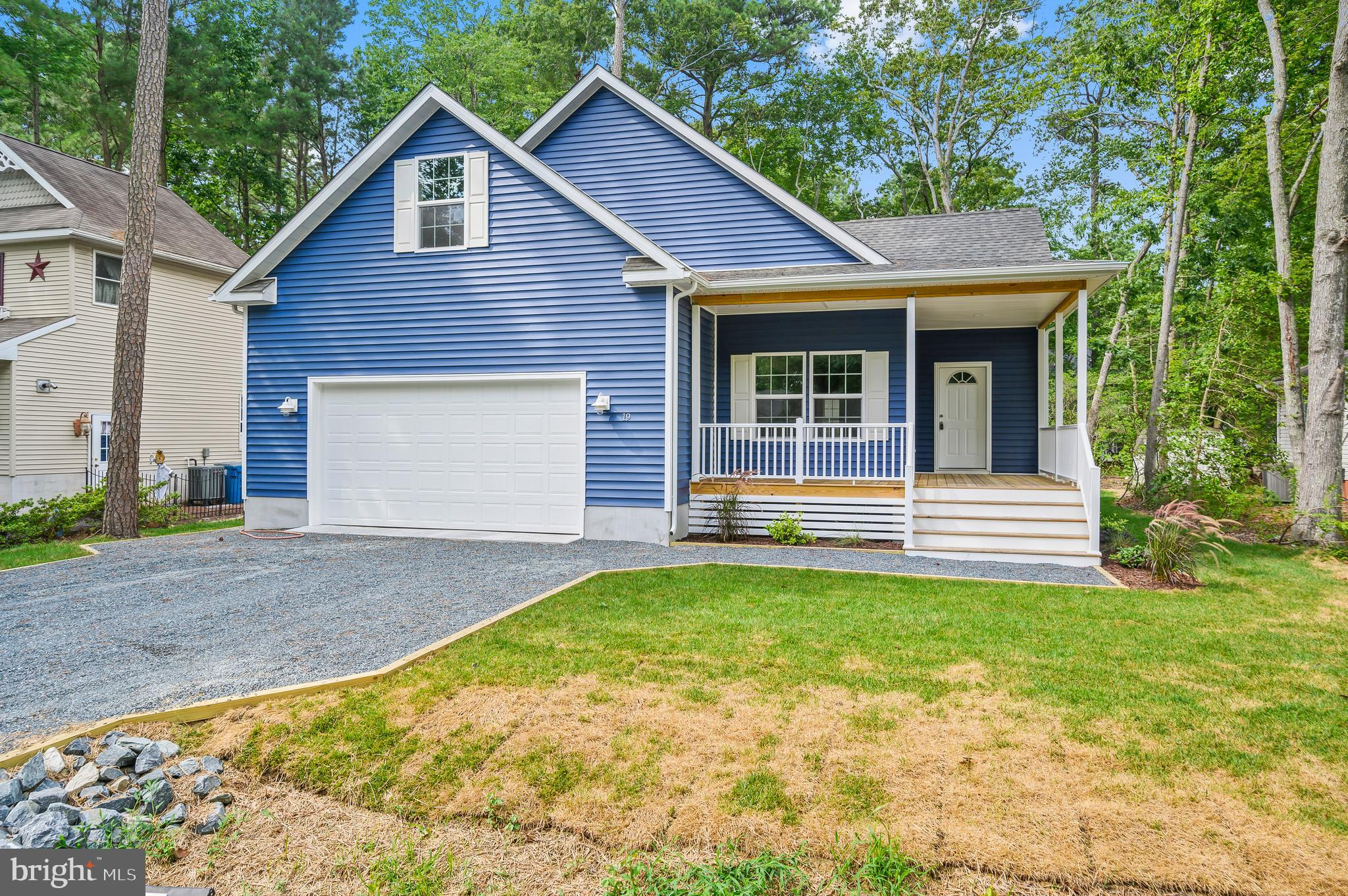 """Brand new construction in amenity rich and conveniently located Ocean Pines. TO BE BUILT, this 4 bed/3 full bath home has an expected finish date exoected September 2020.   Take a right at the four way stop in South Ocean Pines to head toward this home.  From the ground up, this home is dialed in. Starting with five courses of block foundation, up through the architectural shingles used for the roof. As you walk inside you will happily notice Pella windows and doors, Pergo flooring throughout, 42 """" white kitchen cabinets, granite countertops, stainless appliances, recessed LED lighting and carpet in the bedrooms. First floor master, as well as a second floor master, while the 3rd and 4th bedroom share the final full bath. Washer and Dryer are included as well as a 50 gallon electric water heater. Driveway will be stone and the garage will have a 6 panel door. Please call listing agent for more details!"""