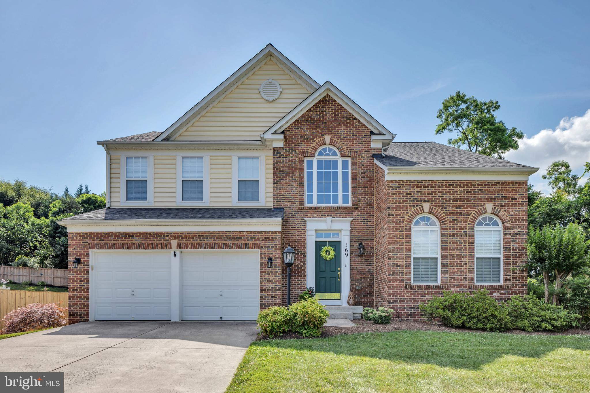 Pride of ownership is what you will find in this 4 Bedroom 3.5 Bath Colonial. If space is what you are looking for, look no further. This home offers approximately  3,986 sq ft of living space on 3 floors.  It offers a brand new roof, hot water heater, and newer HVAC. Enjoy entertaining on this large 16 x 24 deck. The lot is .41 acres and is the last home on the street. No thru traffic. The large primary bedroom offers a large walk-in closet (13x7) tray ceilings, bath with double sinks, soaking tub, shower plus a linen closet.  The laundry room is on the  3rd floor that also has a closet for storage. The lower level has a bar with a granite ountertop, sink , and refrigerator. Nice space for entertaining guests. The garage is a 21x20 and has plenty of extra room for storage. This home has so much to offer. You will not be disappointed. Come and take a look today!!