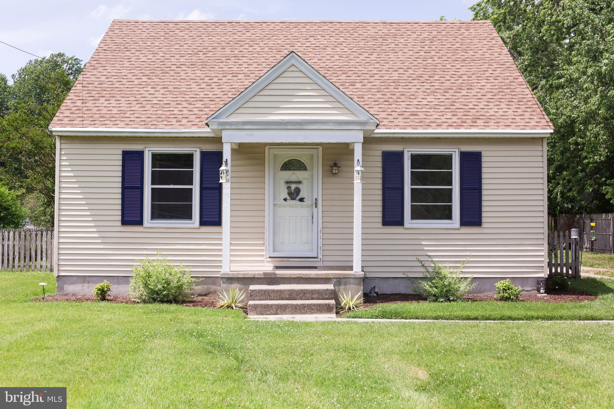 4 BEDROOM CAPE COD WITH 2 CAR GARAGE.  UPDATED KITCHEN, STAINLESS STEEL APPLIANCES,    SOLID SURFACE