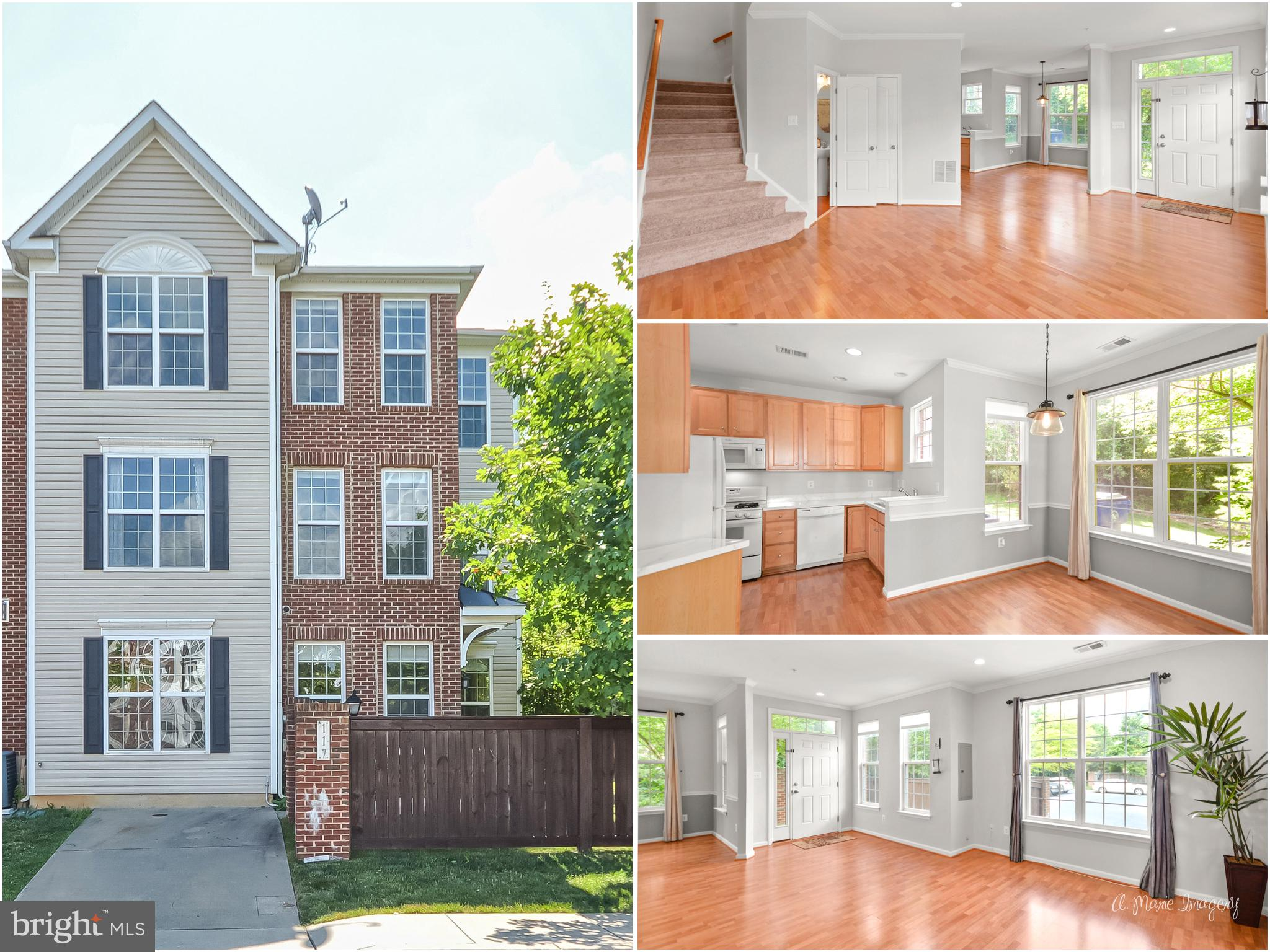 Welcome home to this end-unit townhome that is ready for you to move right in and start living! Back