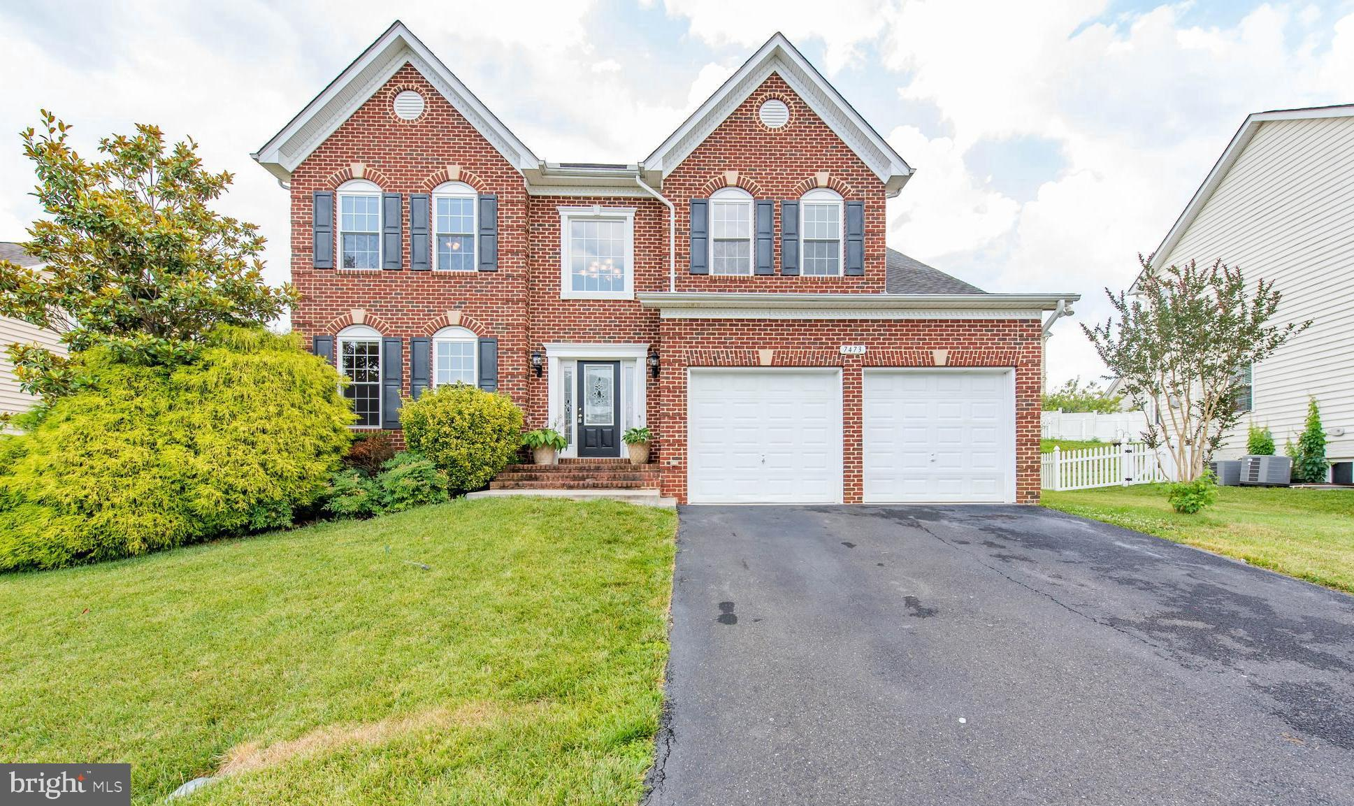Appealing Chesapeake Village colonial offers 5 bedrooms, 3~ baths, and elegant interiors from top to