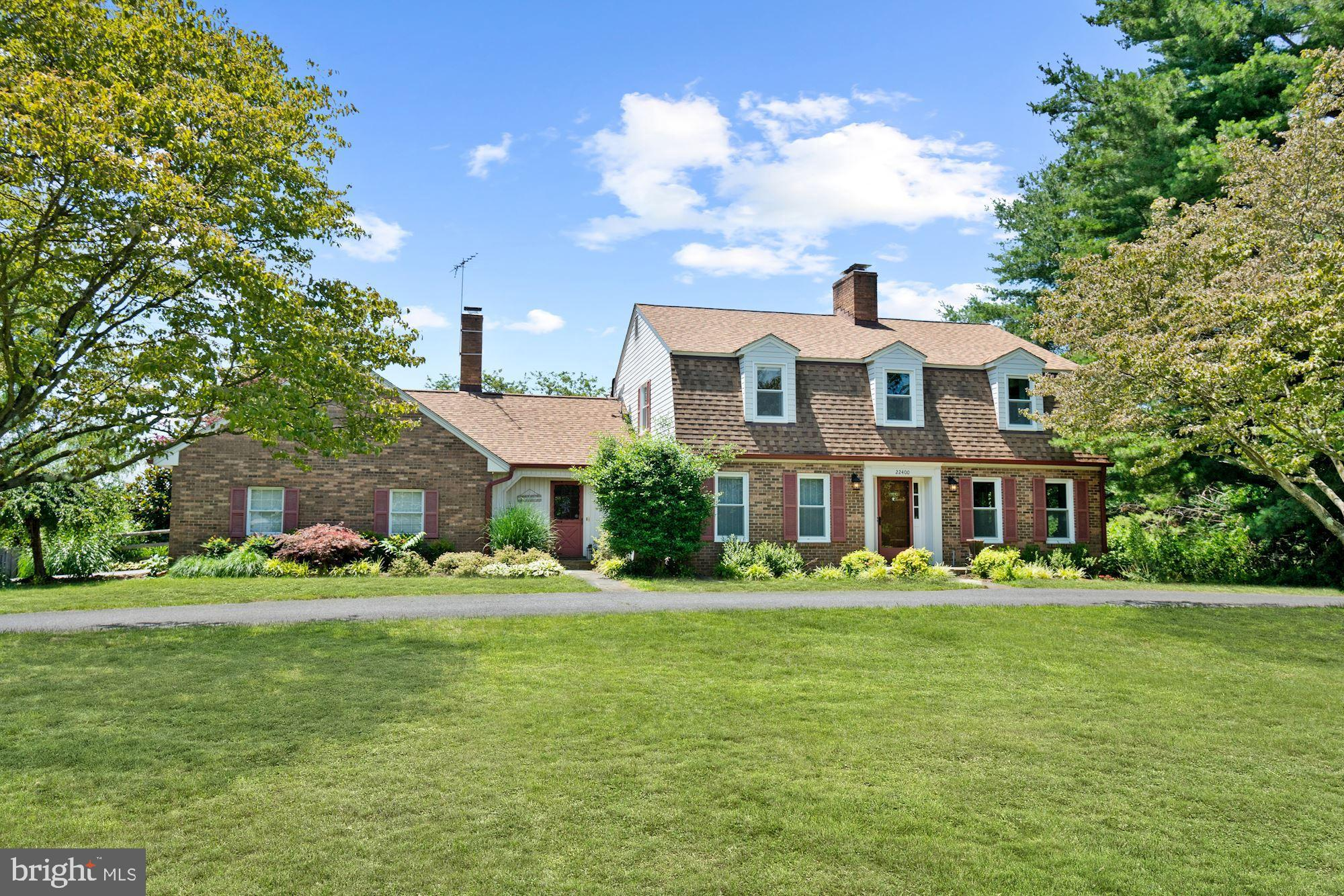 Simply beautiful single family nestled on a 3+ acres lot. This property is featured with; four genor