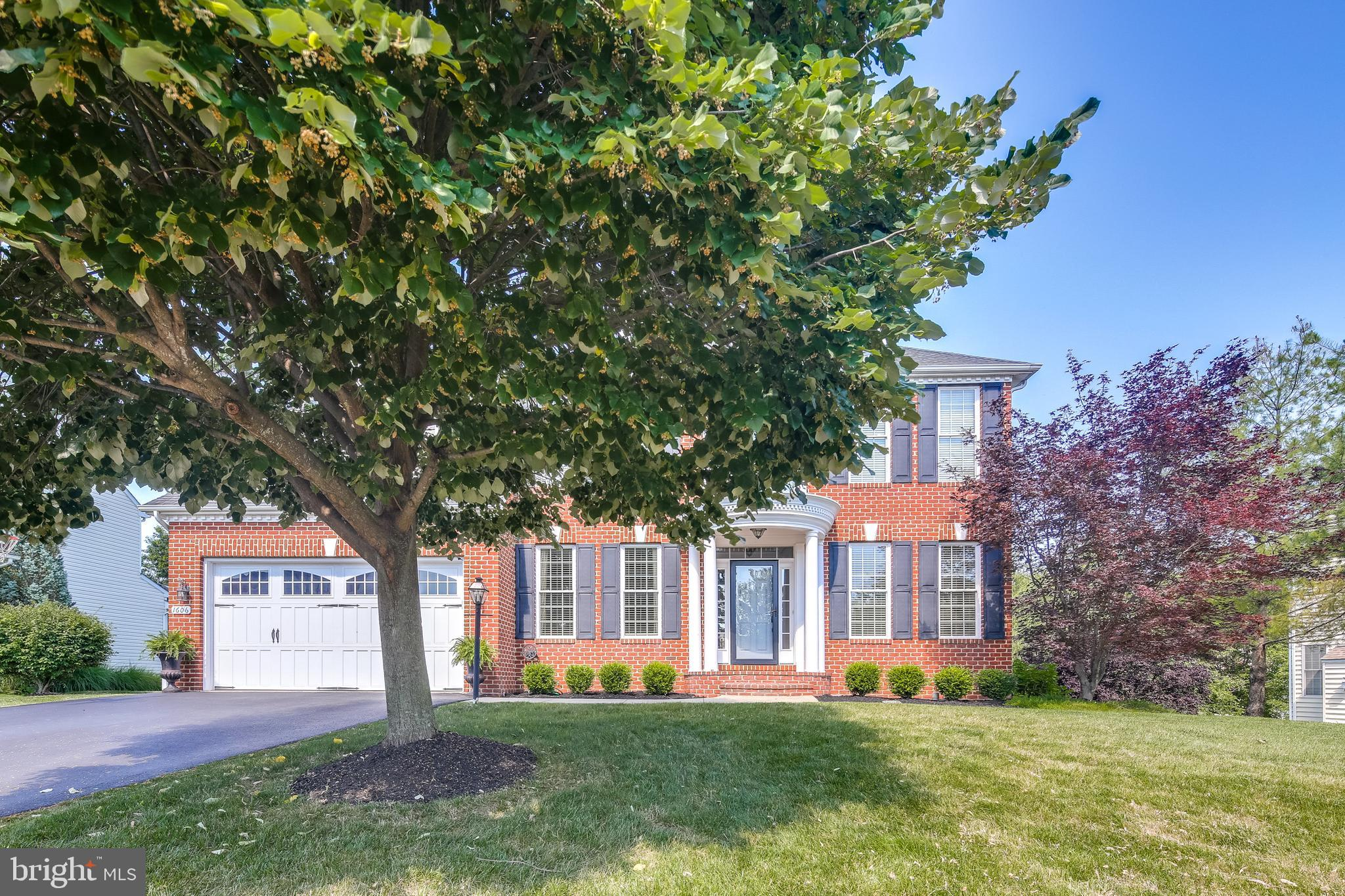 Welcome to this exceptional Catonsville Homes (Charleston Model) brick front colonial w/5 bedrooms a