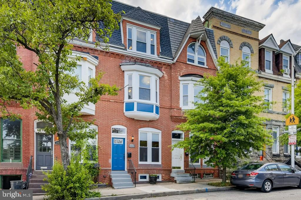 Historical Charm with Modern Sophistication!   Newly rehabbed classic Baltimore City townhome with 3