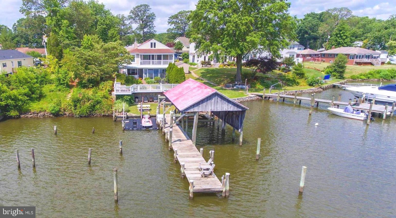 Flood insurance NOT required, Zone X. Beautiful waterfront property with a fantastic view located on