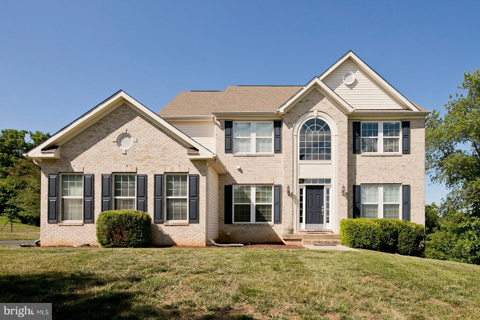 Exceptional home with wide views in elegant neighborhood. Plenty of space both inside and outside. H