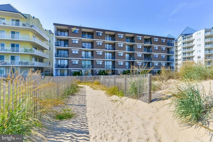 Imagine sitting on the balcony of this direct ocean front unit looking over the beach and ocean.  Th