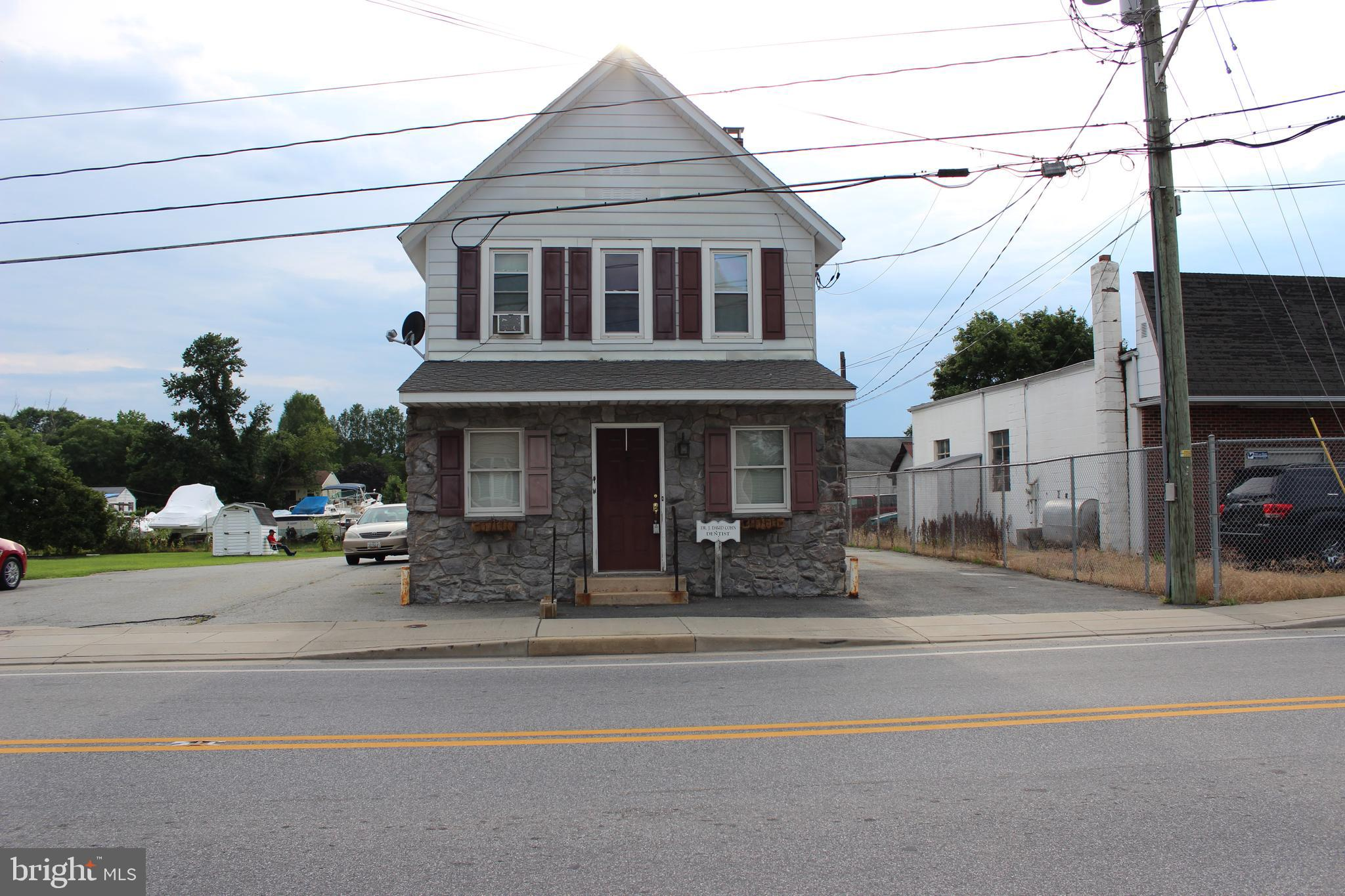 OPPORTUNITY!!!  Commercial  in Town of Cecilton, along Scenic Byway - Main Thoroughfare exposure - U