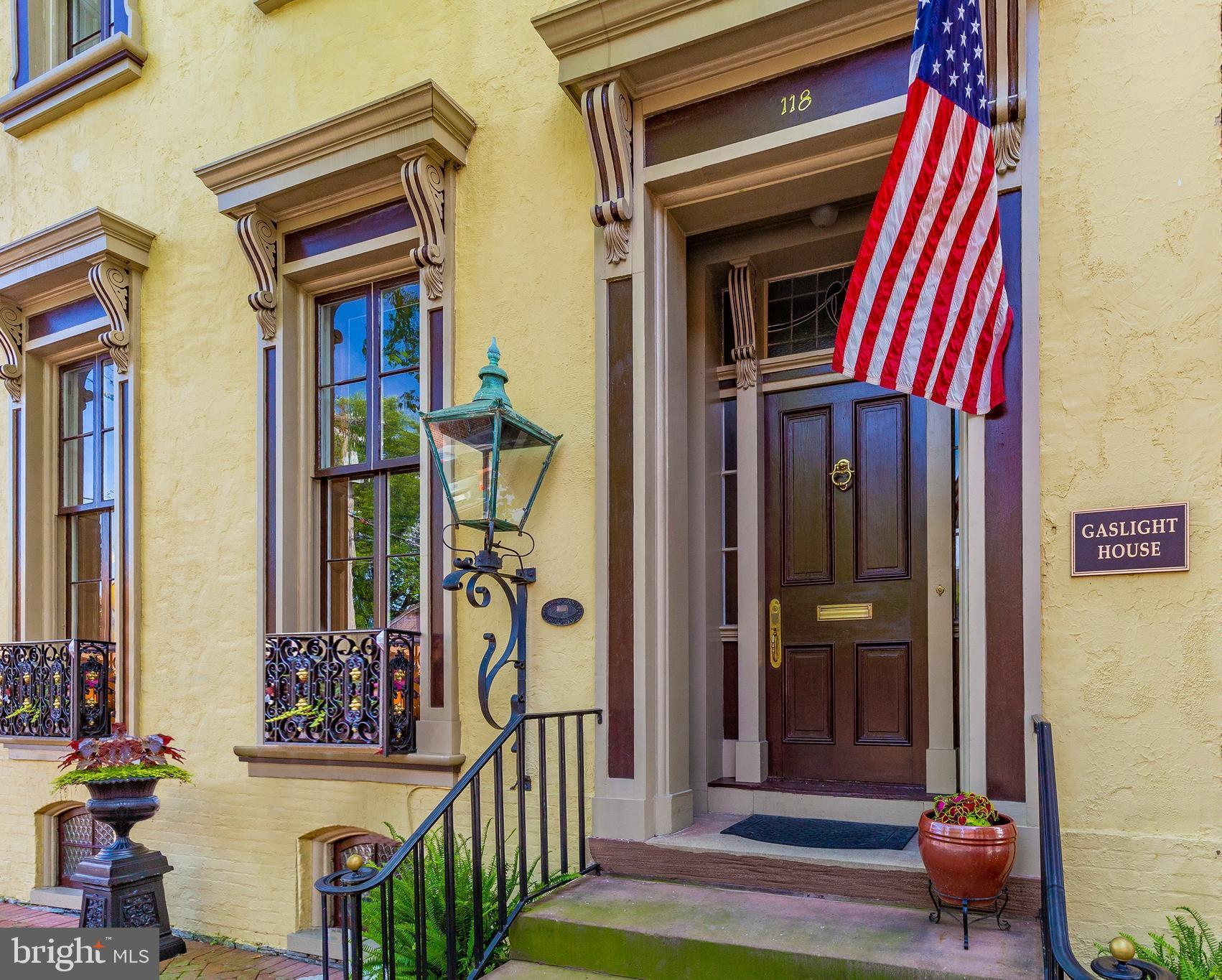 One of Frederick's preeminent homes in the heart of the historic district. Constructed between 1813-