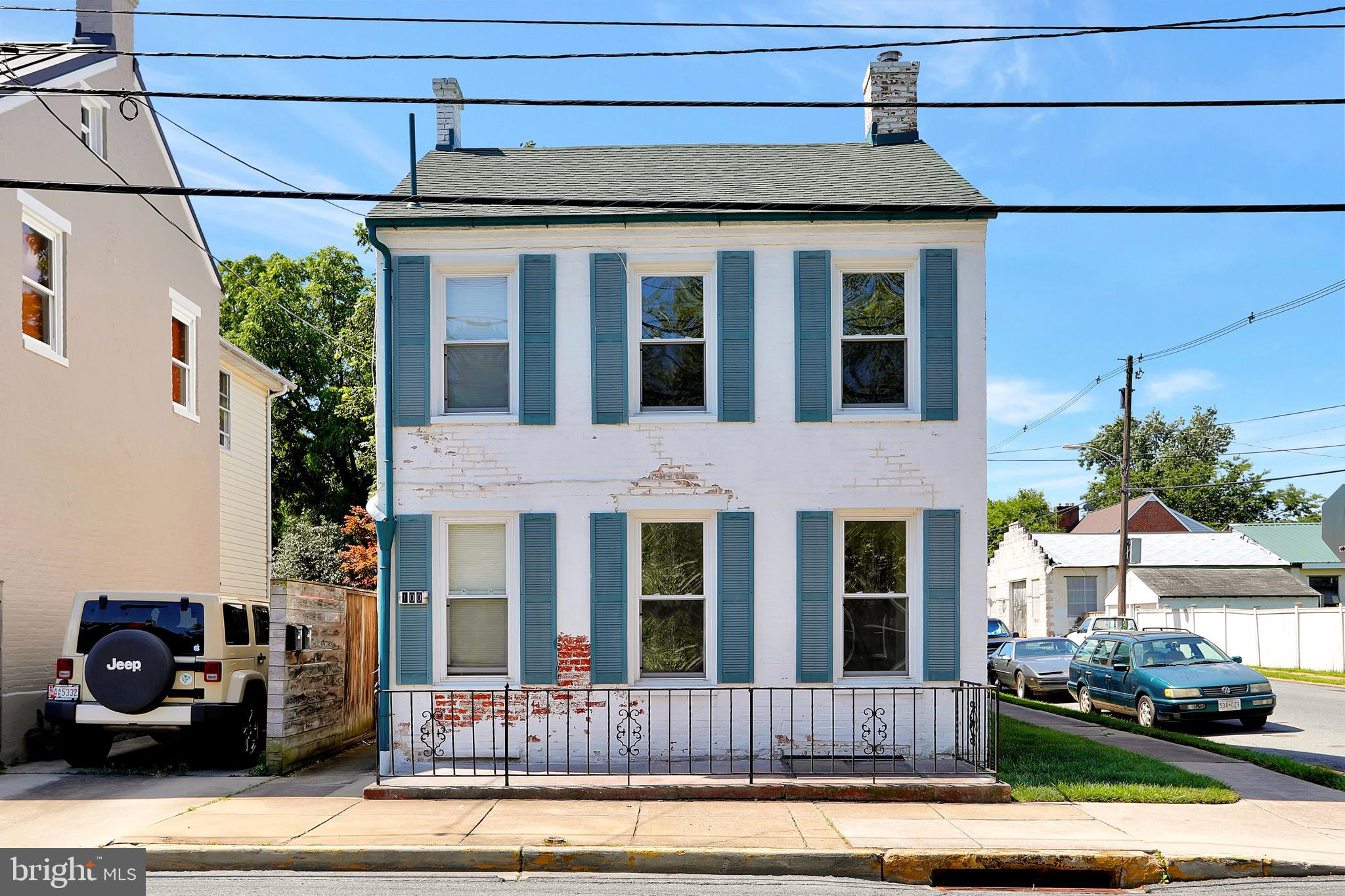 This two unit apartment building is available for immediate delivery! Within walking distance to dow