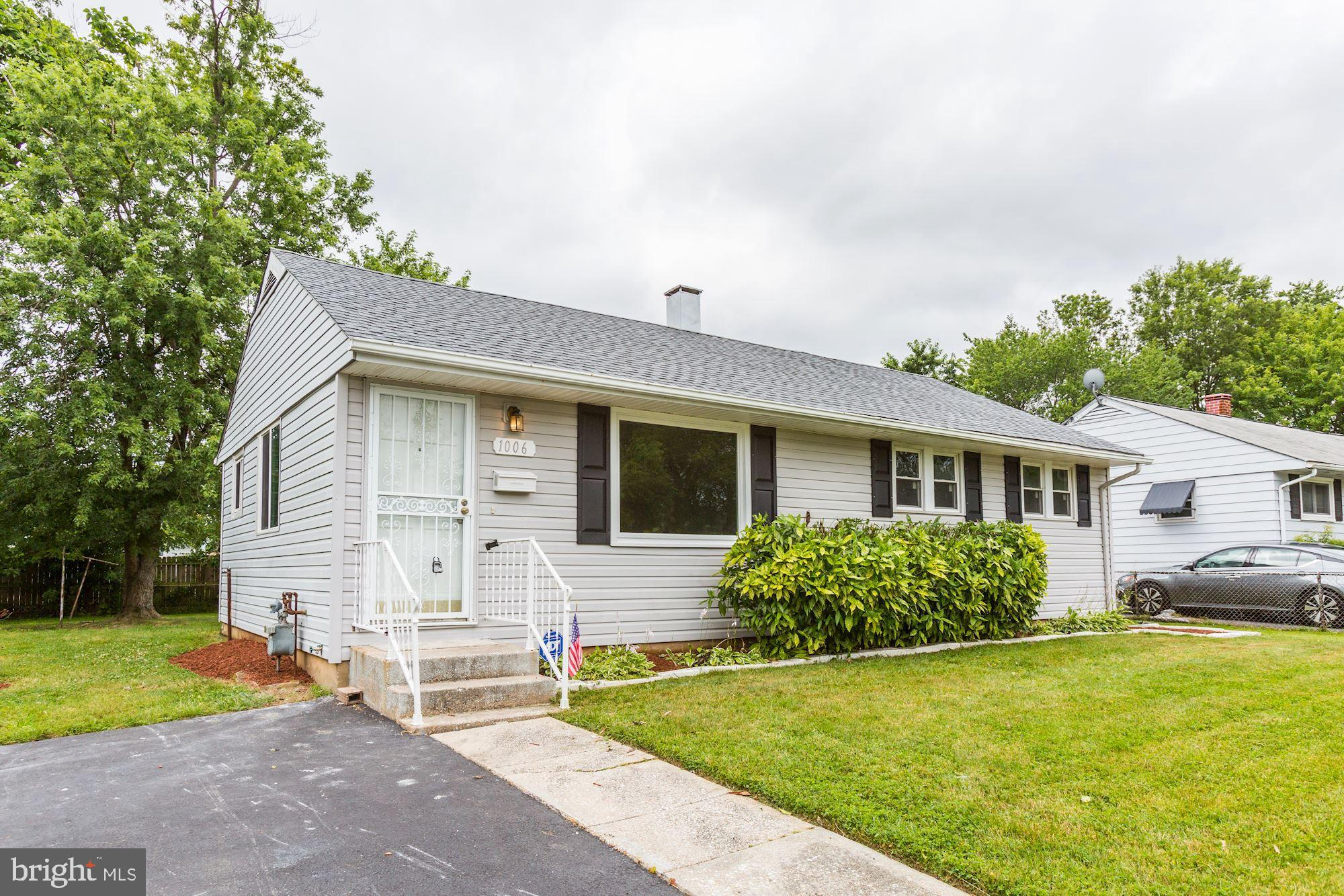 Come and see this beautifully remodeled 3 bedroom 1.5 bath Rambler with a screened in porch with a c
