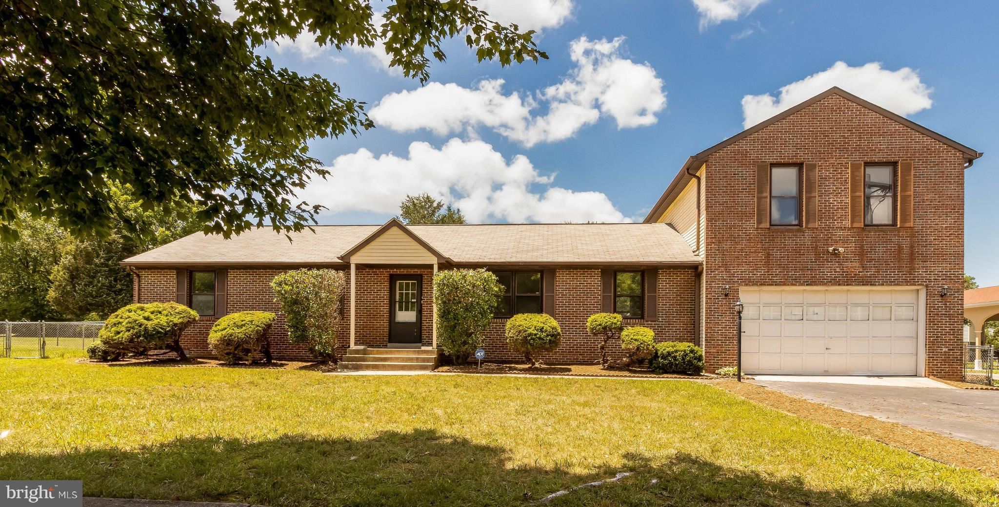 *Amazing home - over 2,000 square feet*   4 Bedrooms and 3 Full baths await you with almost 1/2 acre