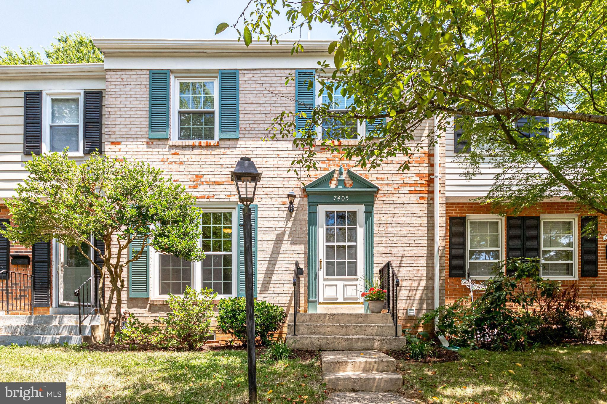 Welcome to this lovely renovated 3 bedroom, 4 bath brick townhome with many updates! This 1,900 sq.