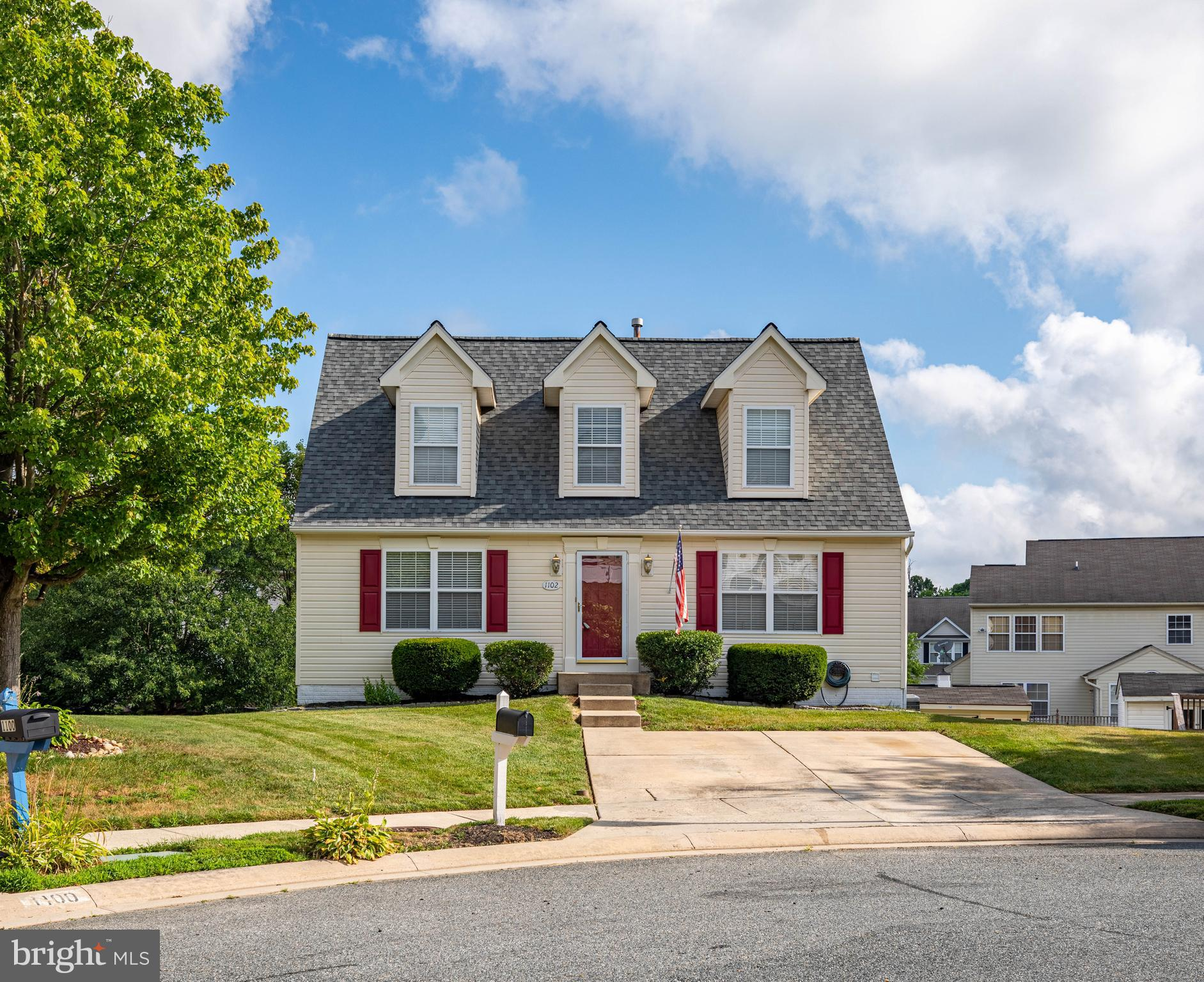 Welcome home to 1102 Walnut Hill Court. This spectacular cape cod is located in Harford Town Communi