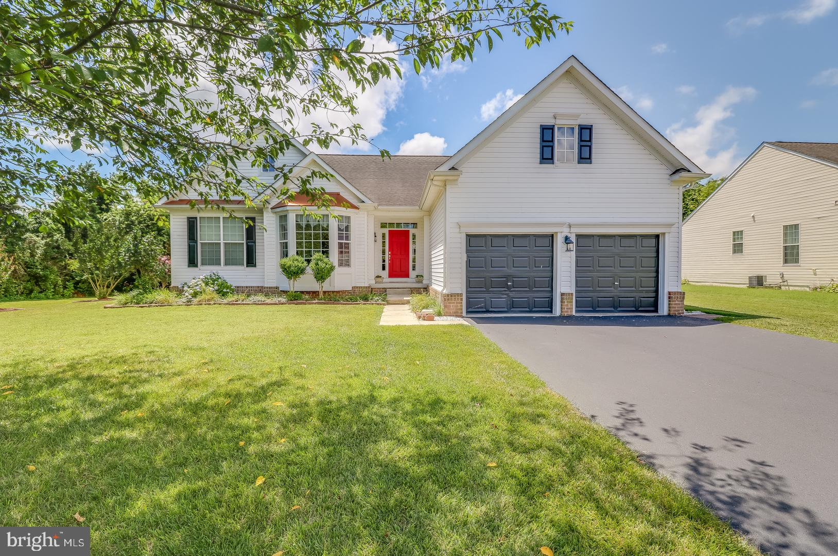 Welcome Home to The Meadows At Shawnee!  This home offers Spacious One Level Living  with a Nicely F