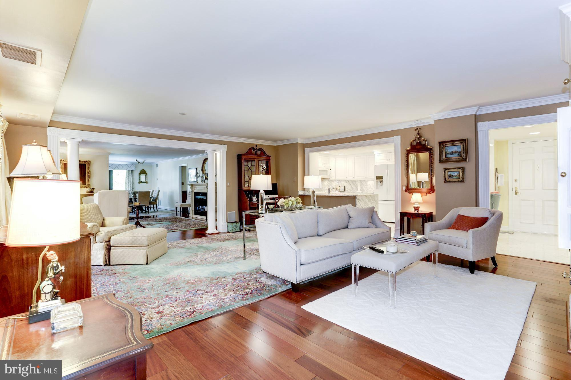 With almost 2300 sqft on one level, there is plenty of room to live, work, and relax at home.  The h