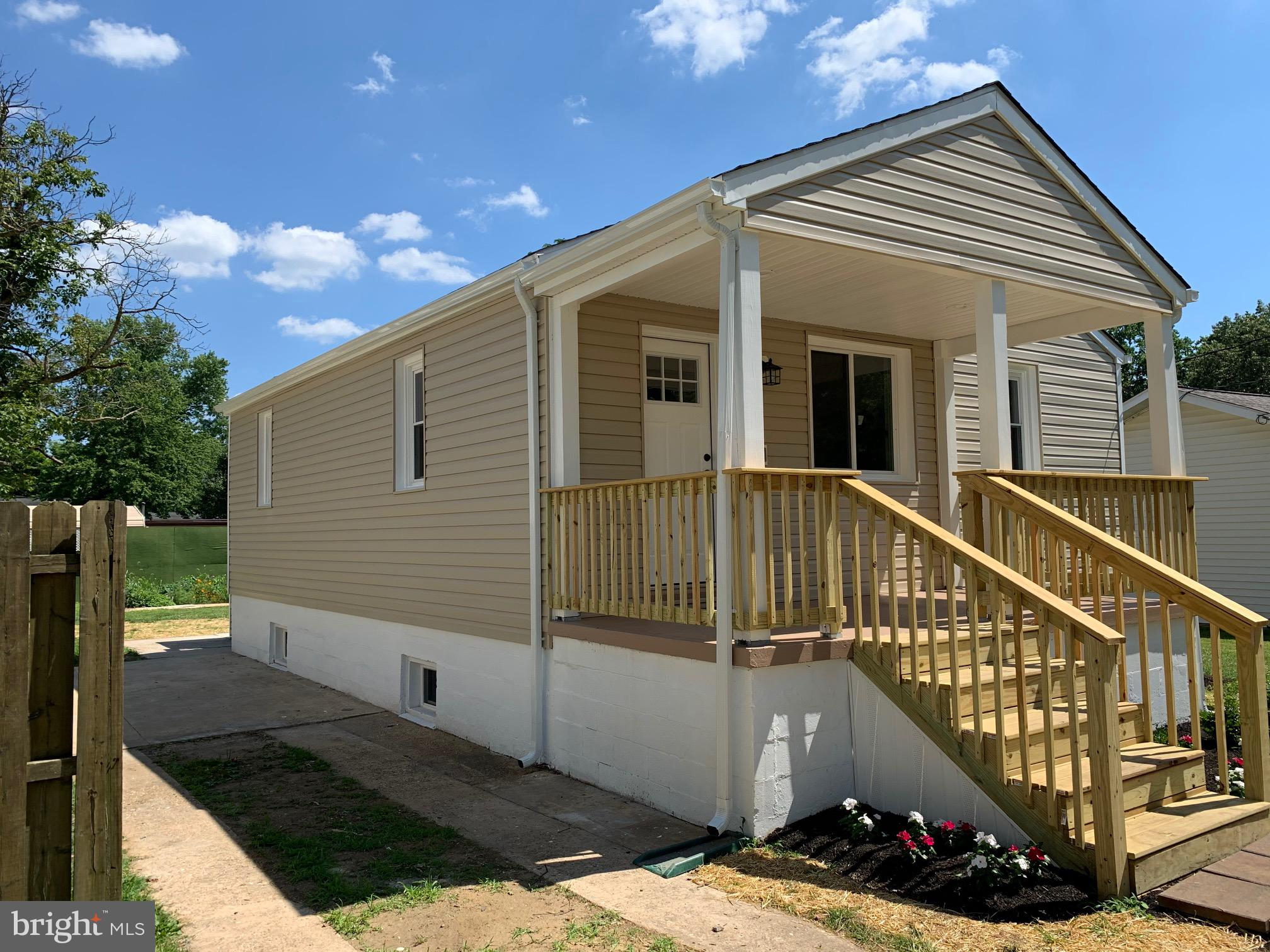 Completely rehabbed 1400 sq ft of living space.  This is 100% brand new throughout. 3 bedroom 2 full