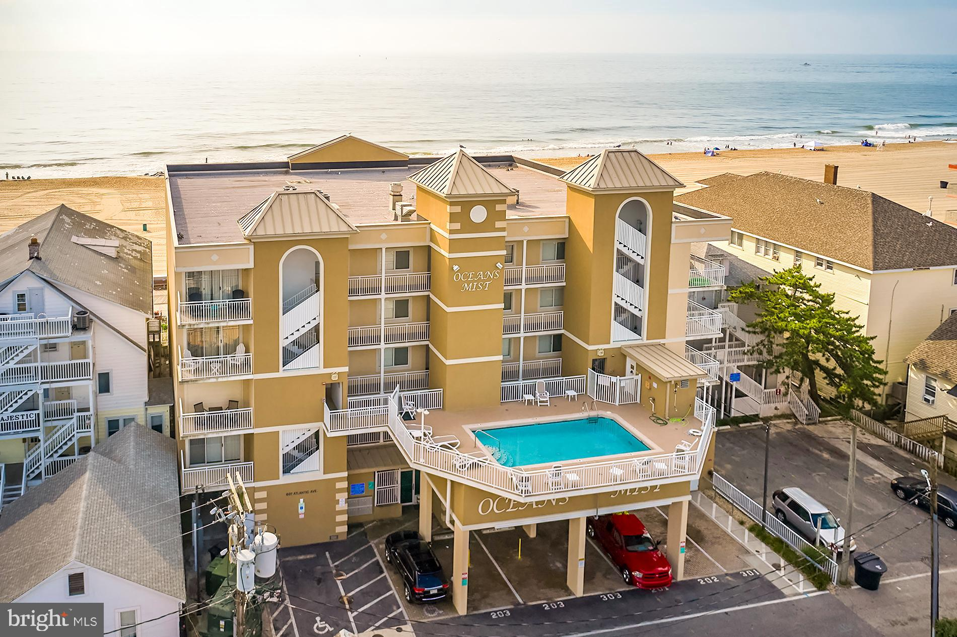 If there were ever a property that embodied the essence of Ocean City, this is the one.  Located on