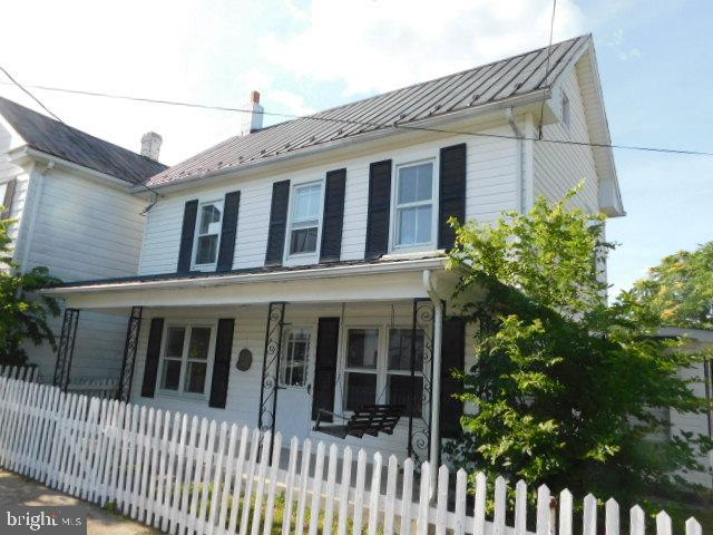 Charming house in Martinsburg. This house has two outbuildings and is on a double lot. There's a nic