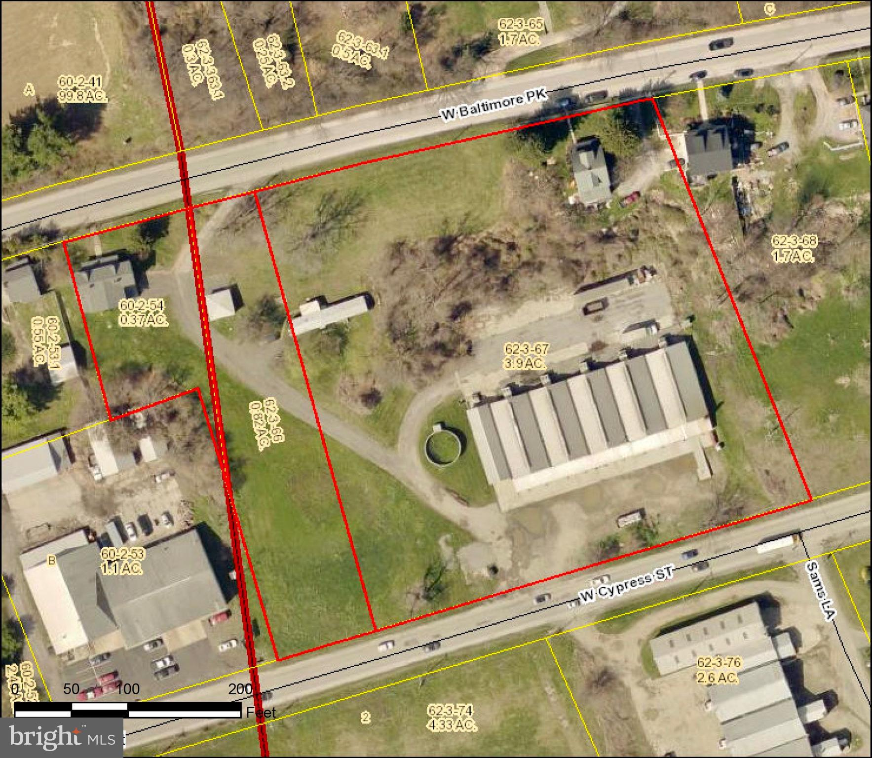 Great opportunity to get in on all of the synergy involving Kennett Square Borough and the surrounding area.  This 5 + acre parcel sits just west of Kennett Square Borough and is conveniently located between two major roads.....Cypress St and W. Baltimore Pike offering two possible entrances for future uses.  Property is fairly open and currently consists of 5 1/2 mushroom doubles, a set of twin homes, a mobile home and a single family residence.  Property is currently zoned C.  Please see attached documents for C zoning along with zoning map and aerial shot of the property.  This property offers so many wonderful possibilities.  By right zoning is as follows: Uses permitted by right. (1) Retail establishment with a gross leasable floor area of 10,000 square feet or less, not including convenience store. (2) Personal service establishment with a gross leasable floor area of 10,000 square feet or less. (3) Business or professional office, including a medical or dental center, with a gross leasable floor area of 10,000 square feet or less. (4) Bank or other financial institution with a gross leasable floor area of 10,000 square feet or less. (5) Catering establishment. (6) Eating or drinking establishment without drive-through service with a gross leasable floor area of 10,000 square feet or less. (7) Single-family detached dwelling. (8) Funeral home. (9) Educational use in accordance with ~ 240-1915. (10) Religious use. (11) Museum, library, community center, or theater. (12) Public utility office. (13) Timber harvesting in accordance with ~ 240-1940 (14) Retirement Community-2 (RC-2) in accordance with ~ 240-1928 and ~ 240-1935.1. (15) Except as otherwise indicated in this chapter, accessory uses customarily incidental to any of the uses permitted in this district shall be permitted by right on the same lot as the principal use when in accordance with the applicable provisions for accessory uses of Article XIX, Supplemental Use Regulations.