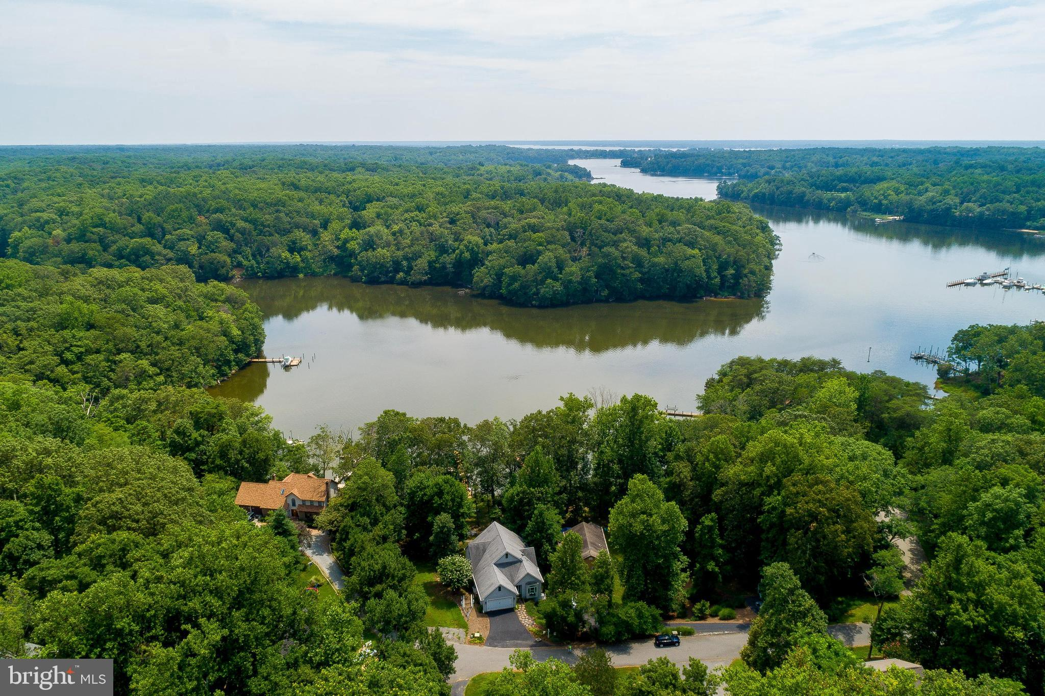 WATERFRONT HOME - NEAR SOLOMONS ISLAND - Gorgeous home on Johns Creek, private pier, deep water with