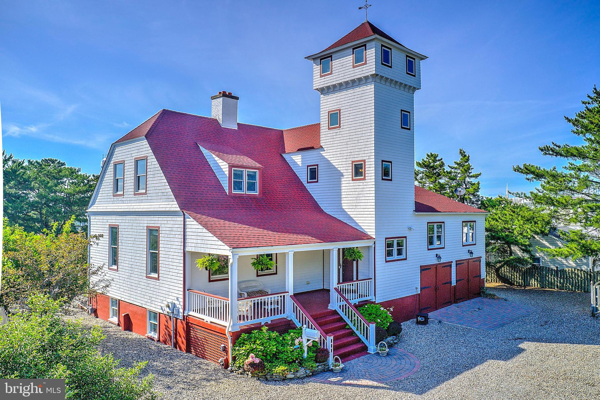 Welcome to one of the most unique and storied homes on Long Beach Island. 117 E Maryland Ave is a ra