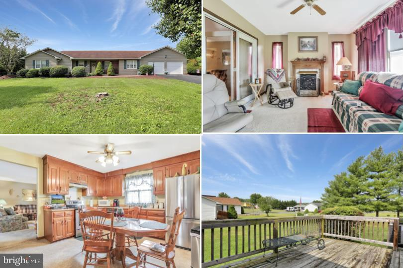 Wonderful one-level living in Cherry Grove Estates community! This beautiful  home features 3 bedroo