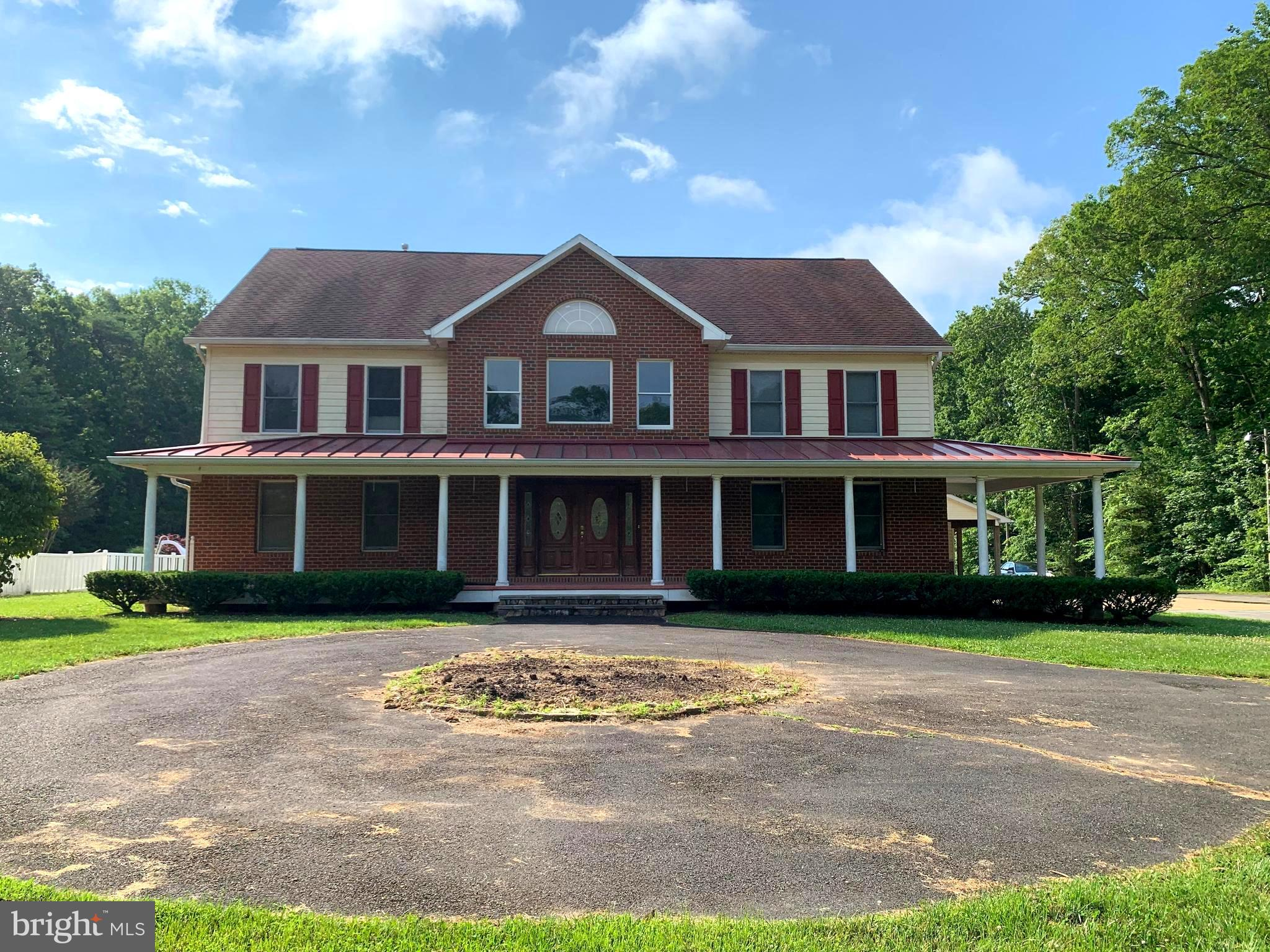 Rare Opportunity to own such a unique and private Estate in the middle of Prince William County! The