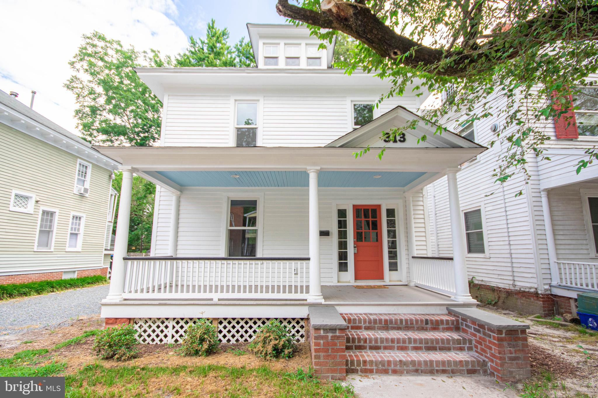 This fully renovated, 3 bedroom, 2 bath home, is ready for its new owner! You'll love the historic c