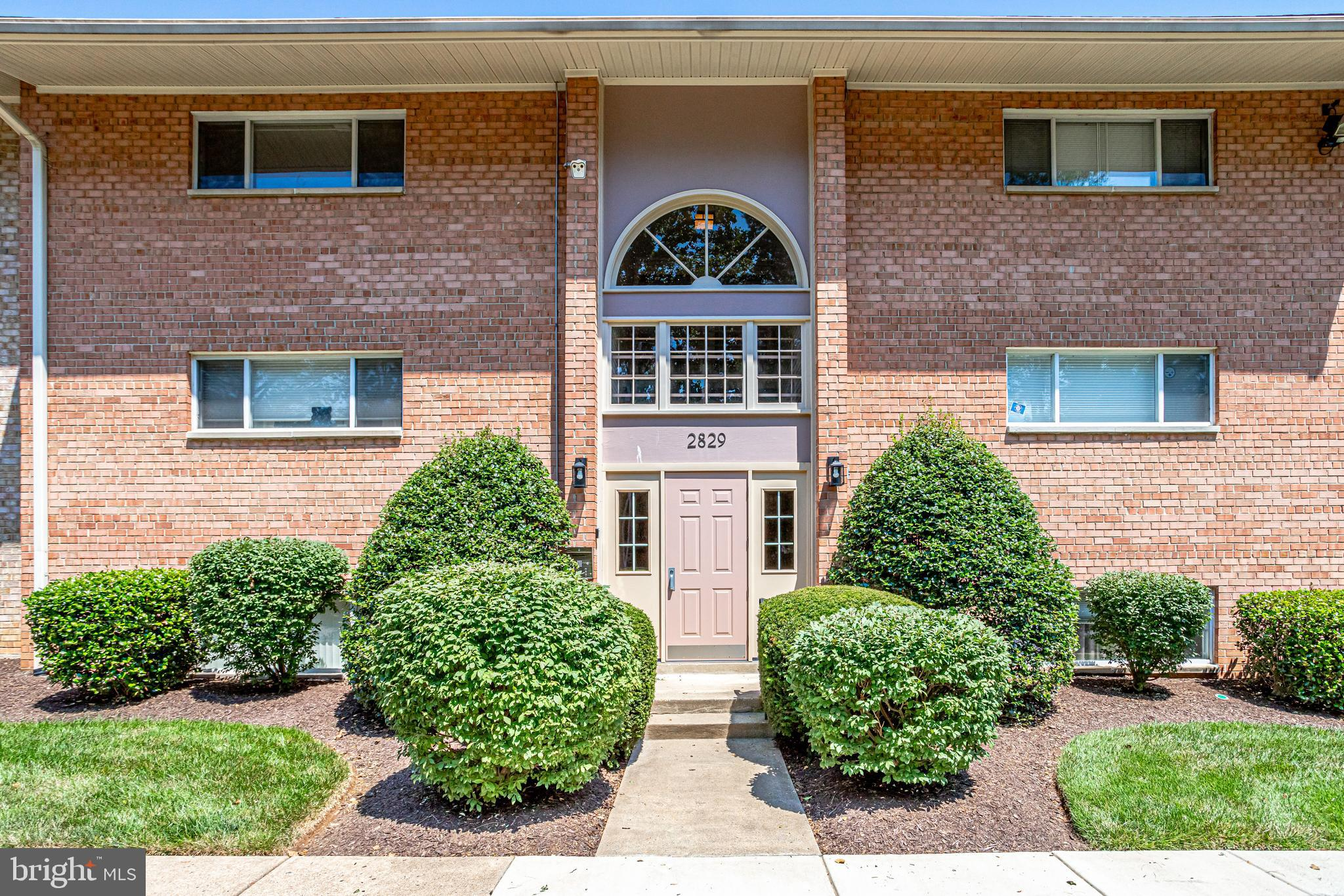 Get It While It's HOT!   Great Falls Church location with metro bus stop at community entrance and just a few minutes to East Falls Church Metro.  Bellsford Landing Condos are a well-kept secret and units rarely become available.  This top floor unit features a sliding door in the living room to a very spacious private balcony.  No looking over a parking lot here. A skylight to enhance more natural light flooding into the home. Huge bedroom with a closet expanding full width of the room plus a large walk in closet with shelving.  A great amount of closet space and storage.  A stacked washer/dryer located in the kitchen. Separate dining with space for a table setting of four. The building offers a fitness room located on the lower level and a secure main door entrance. Permit parking and plenty of guest parking available.  Fine and casual dining along with movie theater and shopping at The Mosaic District and INOVA Hospital a short distance away. With easy access to Tysons Corner,  DC, 495 and 66 this prime location is a commuters dream.  Sold AS IS