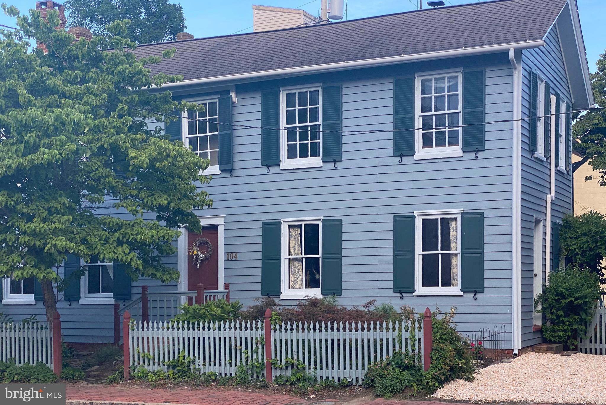 Historical home located in the heart of downtown Centreville.  With its Commercial/Residential Zonin