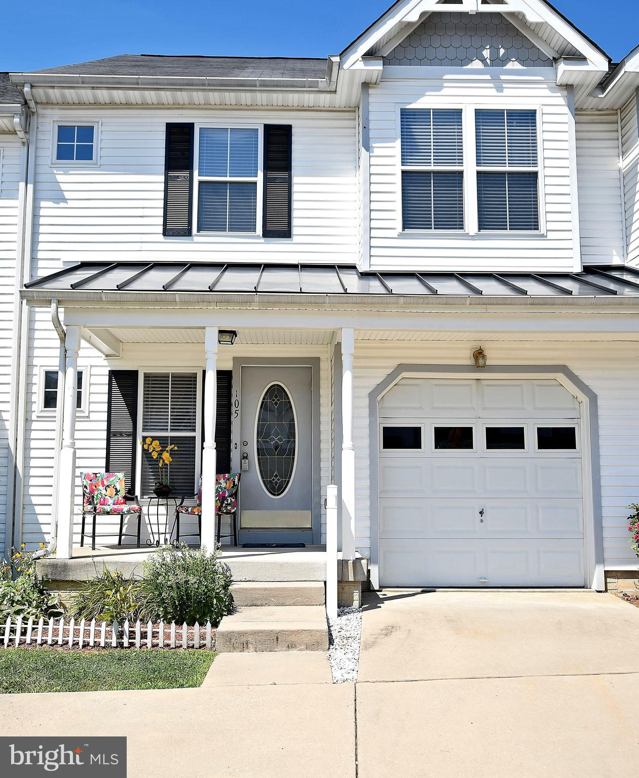 "Plenty of light streams through this lovely, luxury townhome located in the desirable Victorian Square community. Offering over 3000 sq. ft of living space with a three-story bump out, this spacious garage townhome provides three bedrooms and 3.5 bathrooms, gleaming hardwood floors on most of the main level with access in the foyer to the garage and opens to a beautiful kitchen with island, dining area and a sunlit family room.  Sliders from the family room open to a spacious deck overlooking the fenced in backyard setting.  The second level offers a master bedroom en-suite with a large sitting room and walk-in closet.  Two additional bedrooms, a hall bath and the laundry room complete this level. A fully finished lower level provides an incredible recreation room, an additional bonus room & a full bath.  This home has so much to offer, don't wait to call it ""HOME"" today!"