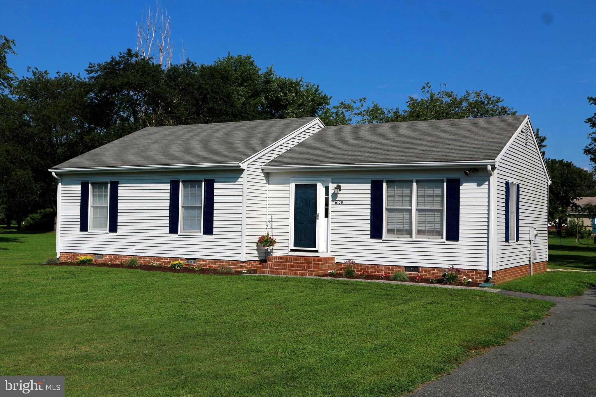 Beautiful!  Move-in ready! Eligible for rural housing 100% financing. Lovely 3 bedroom, 2 full bath