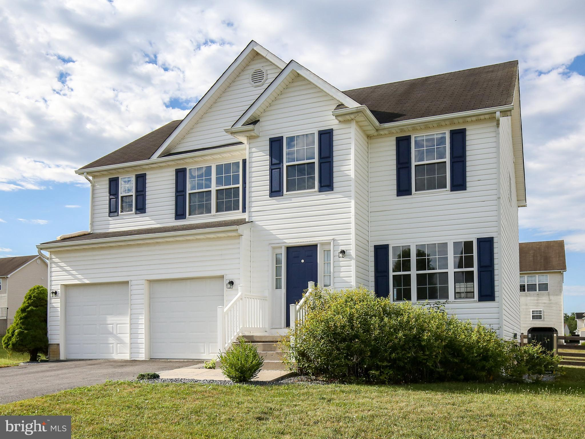 Attractive colonial home in Summer Hill.     Two story foyer, and two story great room with lots of