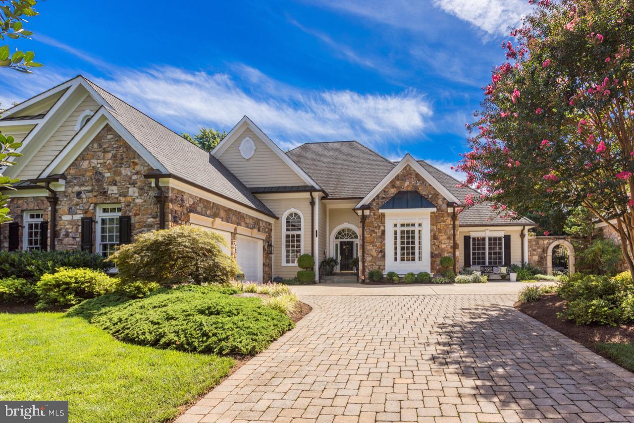 Superior craftsmanship permeates this 8,800 square foot architecturally impressive custom home in th