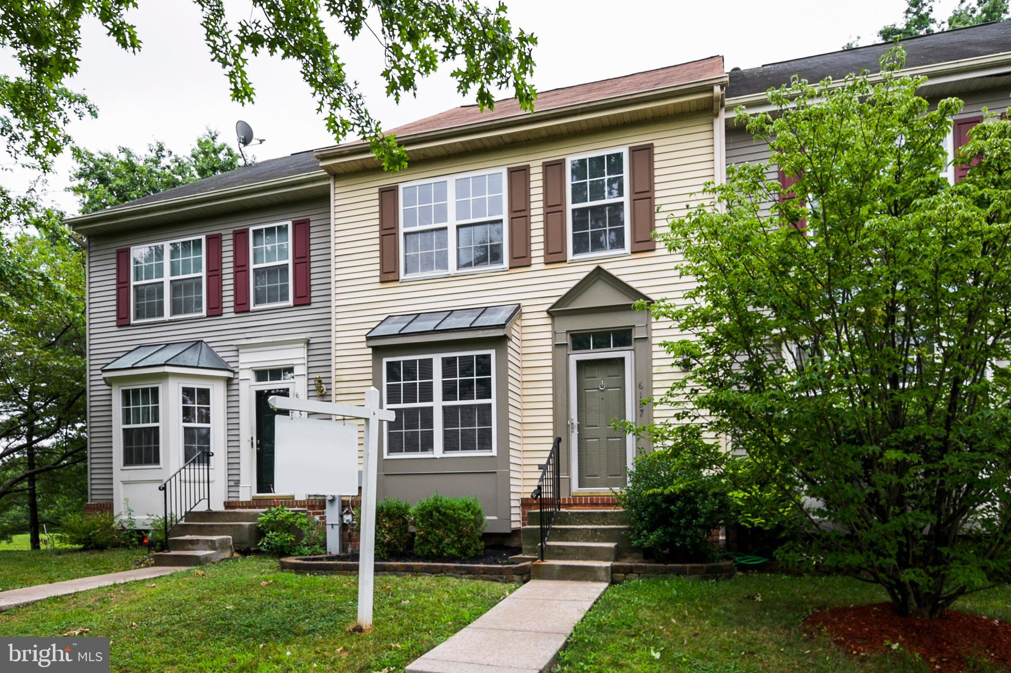 Well maintained 3 bed 2 full 2 half bath in heart of Columbia! Large eat in kitchen with stainless s