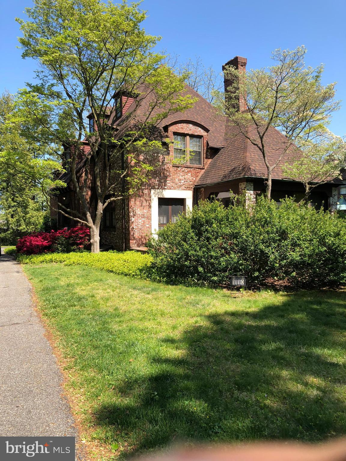 Classic Wawaset Park, brick Tudor with loads of charm and potential.  Spacious living areas with var