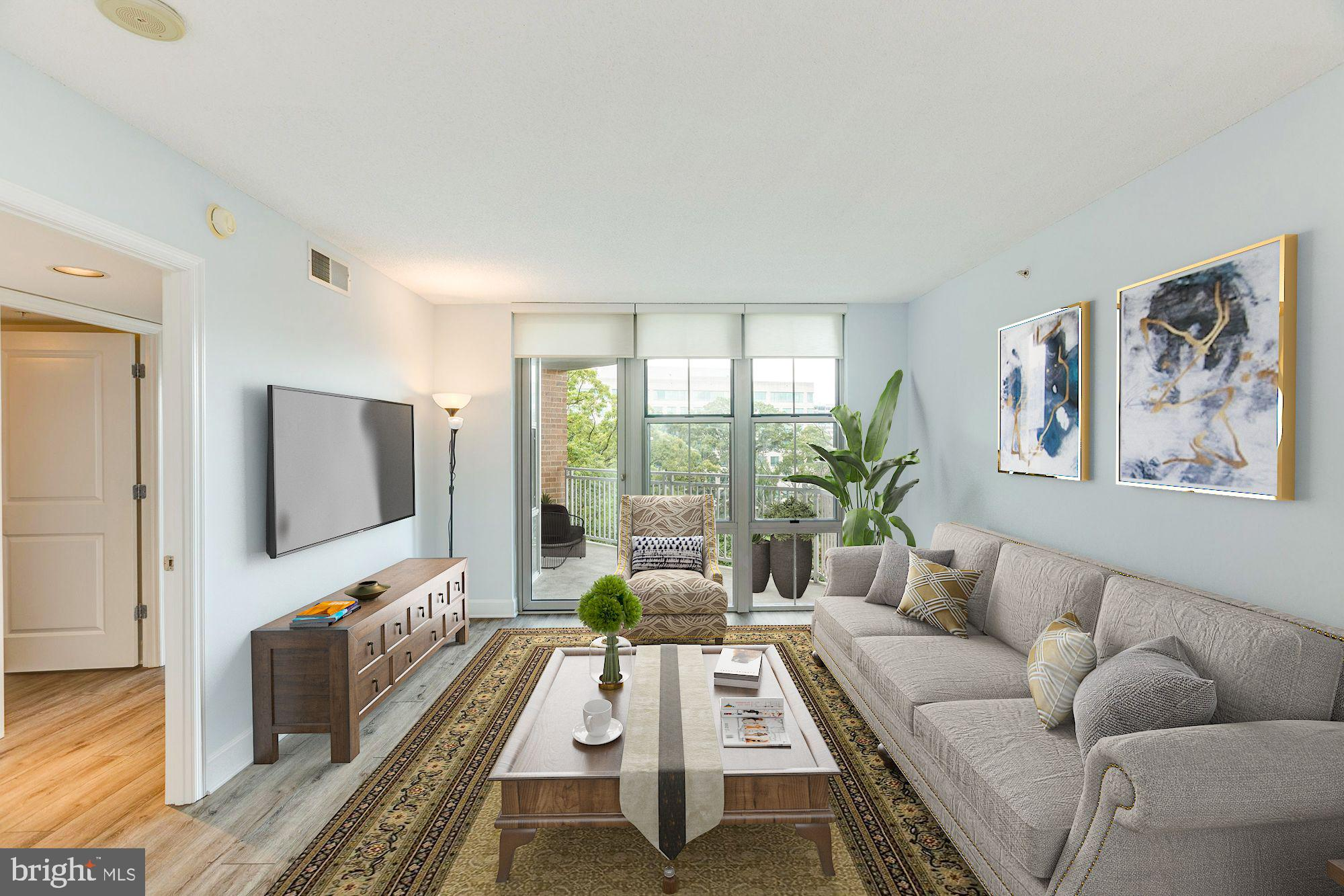 Absolutely gorgeous 2 bed/2 bath condo within walking distance to the Reston Town Center!  ALMOST 20