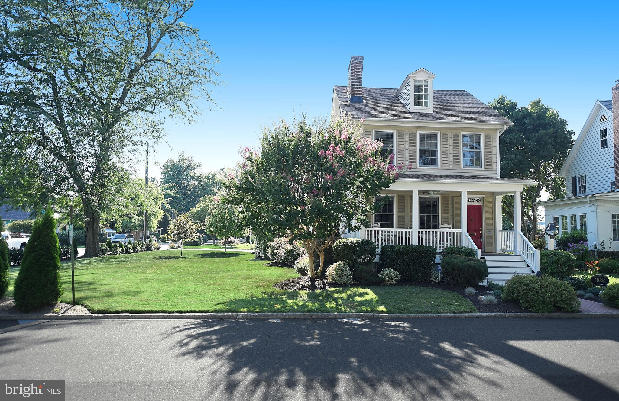 Own a piece of history in this gorgeous home nestled in the heart of downtown Havre de Grace.  Not only will you be wowed by all of the modern conveniences, such as, new roofing, updated gourmet kitchen, A/C, bathrooms, bay windows, composite decking and so much more, but you will relish in its old world charm.  Nestled a few blocks from the waterfront, just imagine taking a stroll to enjoy all that Havre de Grace has to offer.  This treasure is well appointed with Juliet balconies & large porches; all with composite decking.  The gleaming hardwood floors flow throughout the home, with three fireplaces, updated bathrooms, and a detached garage with plenty of storage and a separate office/exercise room.  The tranquil outdoor setting is the perfect place to relax with the waterfall sounds from the koi pond, patio, hot tub, and archways overflowing with flowers.  This beautiful home was featured in the Candlelight tour and was formally owned by the well-known Galloway family from 1835.  Presented with the Havre de Grace Historic Preservation Award, this type of gem rarely comes on the market.  This is your chance to own a piece of history today.