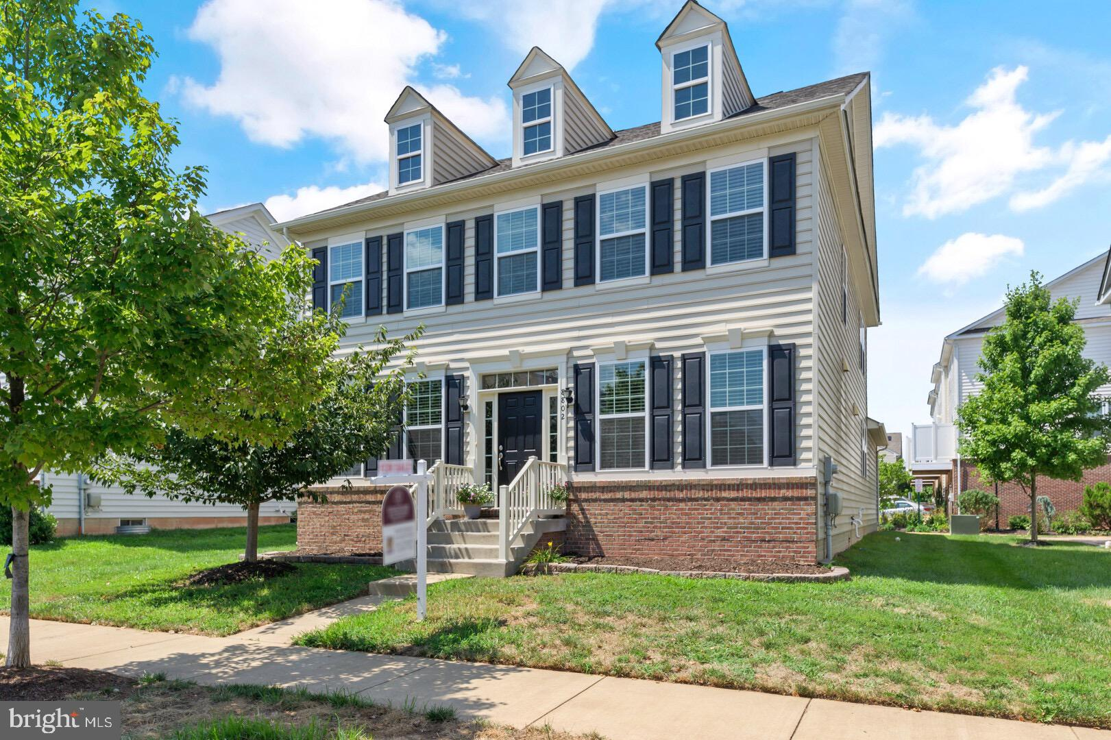 BEAUTIFUL 4 bedroom, 3.5 bathroom home in Hastings Marketplace.  Custom paint, gorgeous new flooring on main level and new carpeting in basement and upstairs! MOVE IN READY!! Very spacious kitchen with large eat-in space that opens to a large light filled family room. The upper stairs has great size bedrooms all with walk-in closets! Entertain in the oversized open basement  with full bathroom.  Very close proximity to the Parkway, 66, shopping centers and more! Don't Miss Out!!