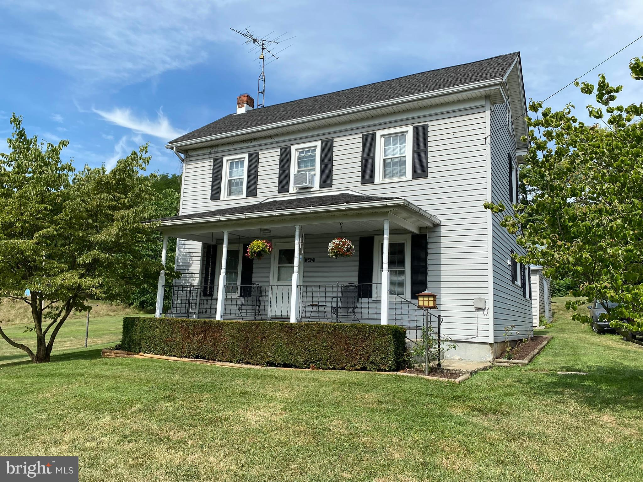 Well cared for home on .38 acres in Inwood, WV. Beautiful lot that backs to woods on dead-end street