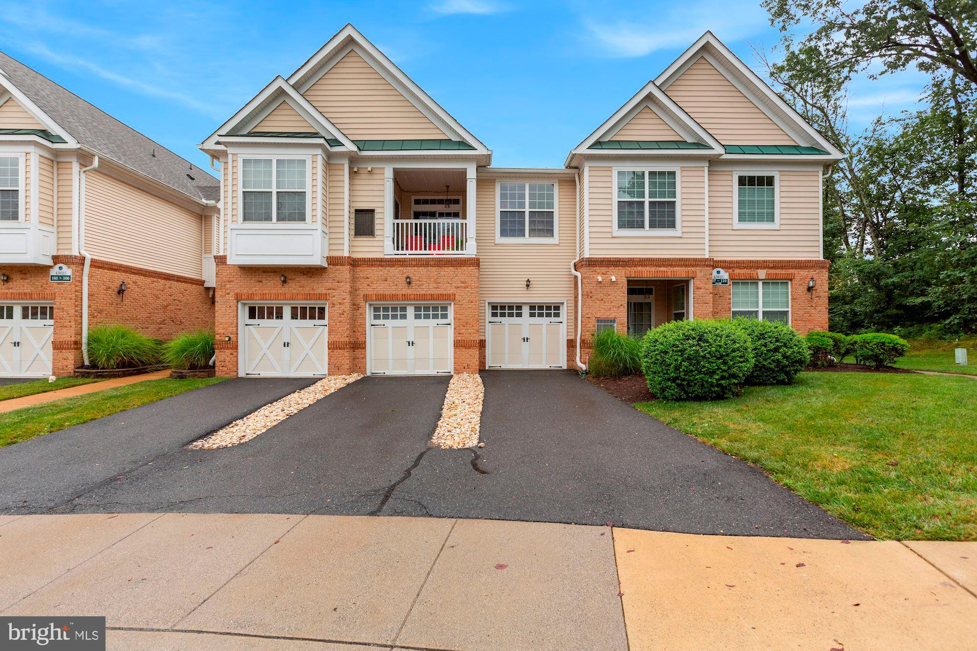 Open House Sunday 8/2/2020 1-3 p.m. Gorgeous Belmont Country Club Condo-Amazing Location Seconds to Whole Foods and Acclaimed Restaurants-1/4 Mile from Route 7 and Only 15 Minutes to Reston and 10 Minutes to Dulles Airport-Ideal Location in The Neighborhood Backing to Trees-The Property Has Been Lovingly Maintained and Updated with Brand New Flooring Throughout-Freshly Painted-Updated Lighting Fixtures-Recently Updated Stainless Steel Appliances- New Hot Water Heater- Fireplace in The Family Room-Generous Sized Owner's Suite with Two Large Closets-Huge Mudroom Off the Over-Sized Garage-Extra Long Driveway for Ample Parking-Condo Fee Includes Cable TV, High Speed Internet, Phone, Water, Sewer and Country Club Amenities-This Property Will Not Disappoint!