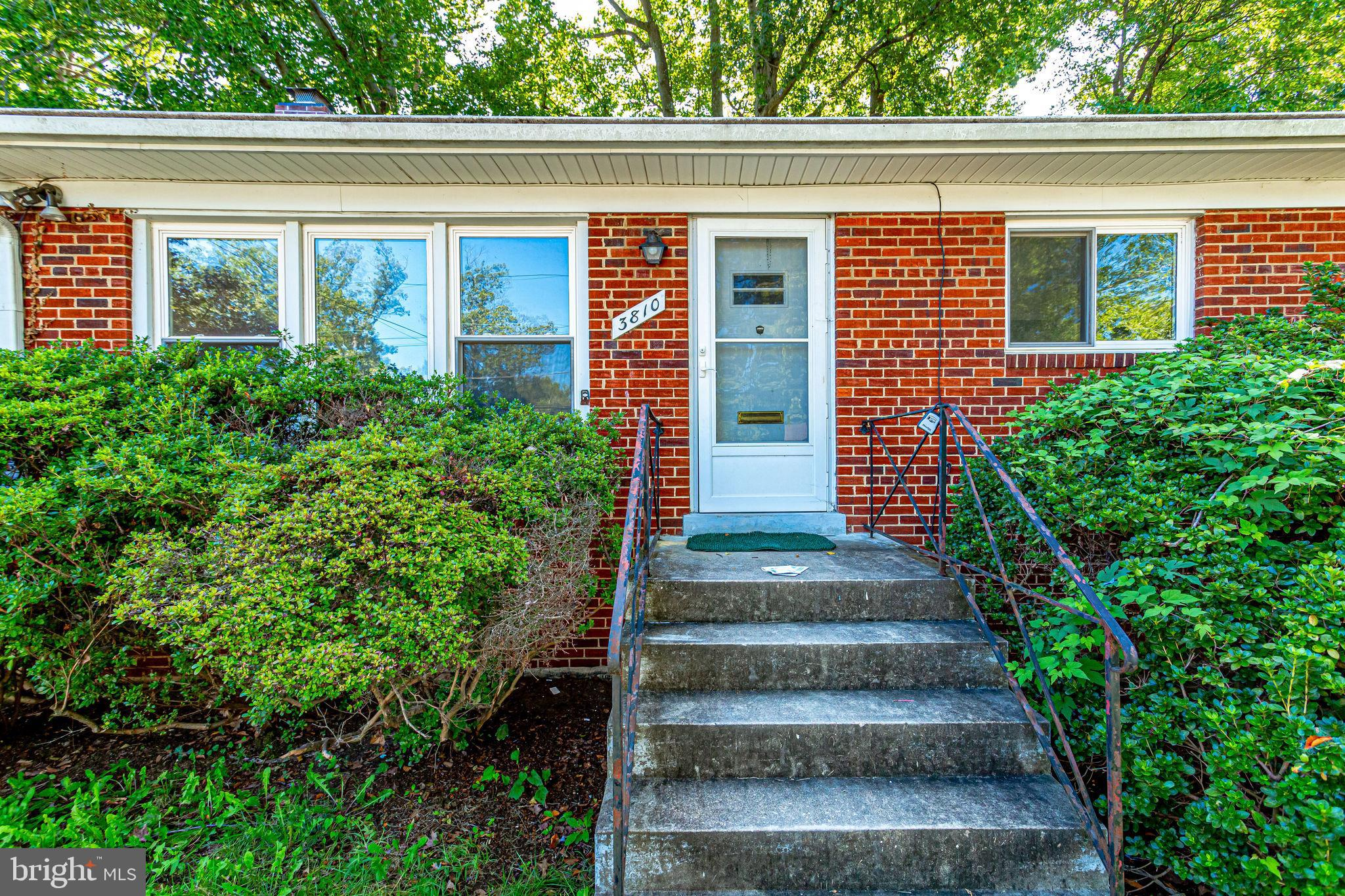 Location... Location... Very nice all brick rambler located in a very desirable neighborhood. This h