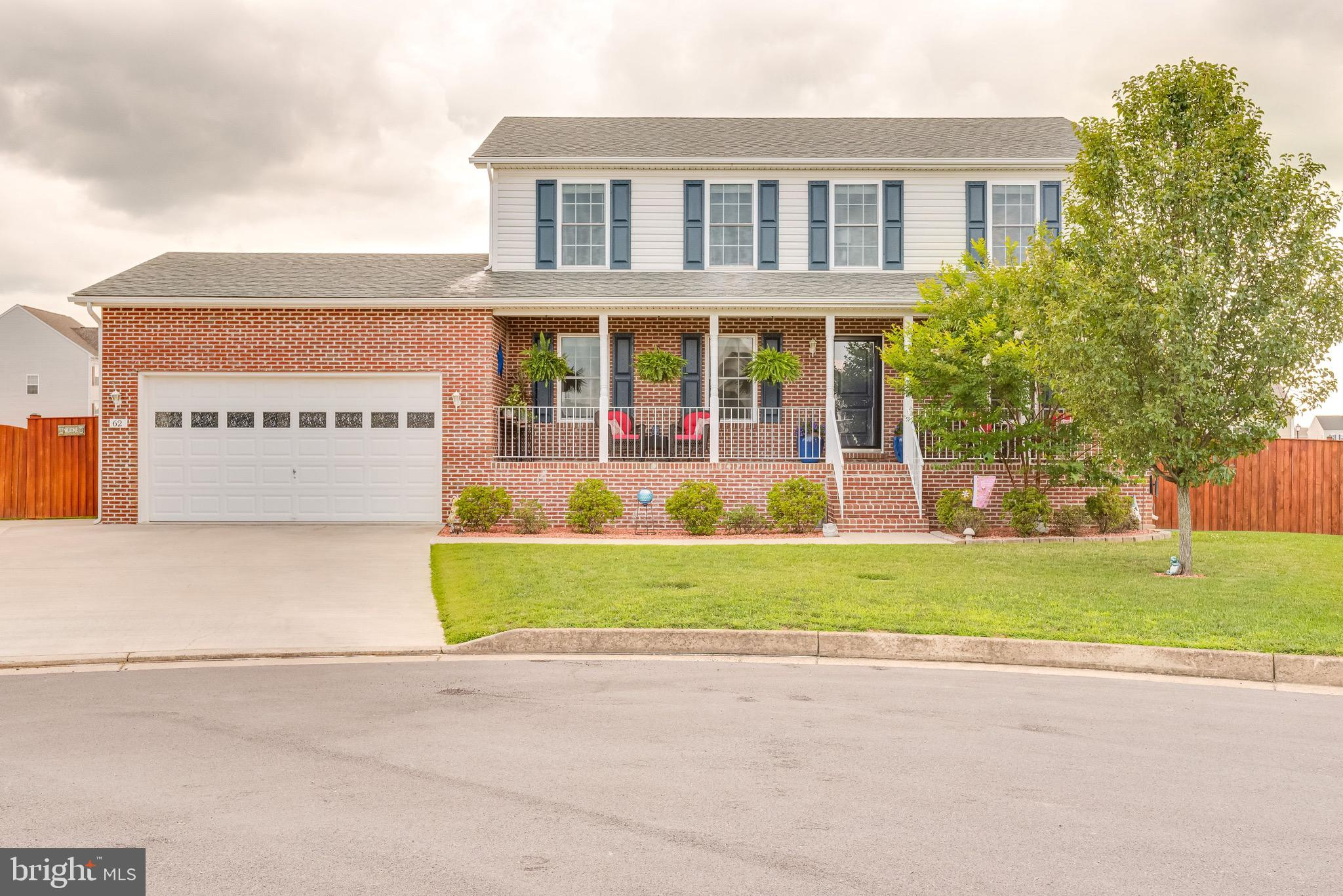 Look no more for your new home! This beautiful 4 bedroom, 2 1/2 bathroom colonial is situated on a c