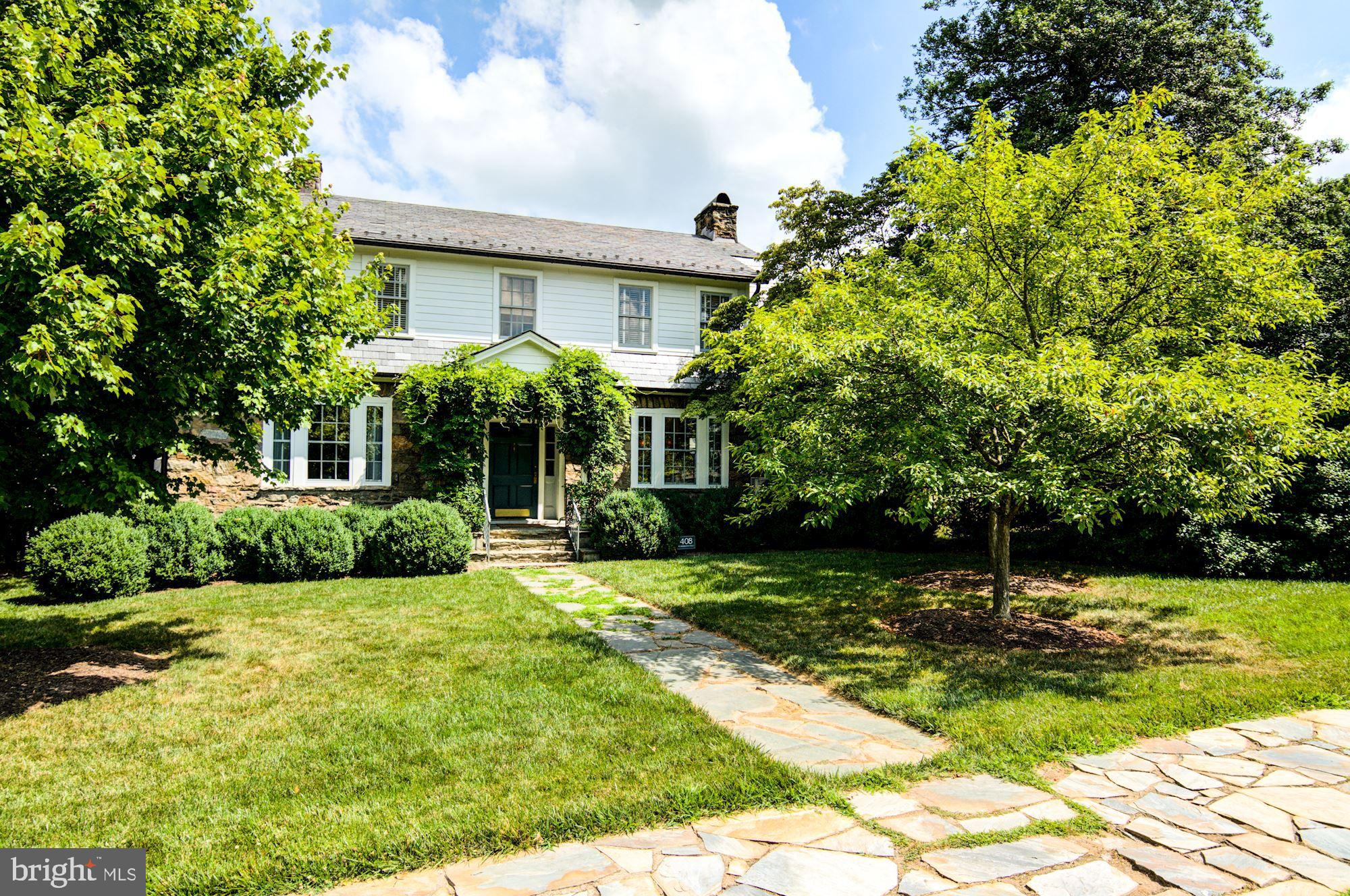 Tucked in the village of Middleburg, this luxury retreat offers three levels of living space in the