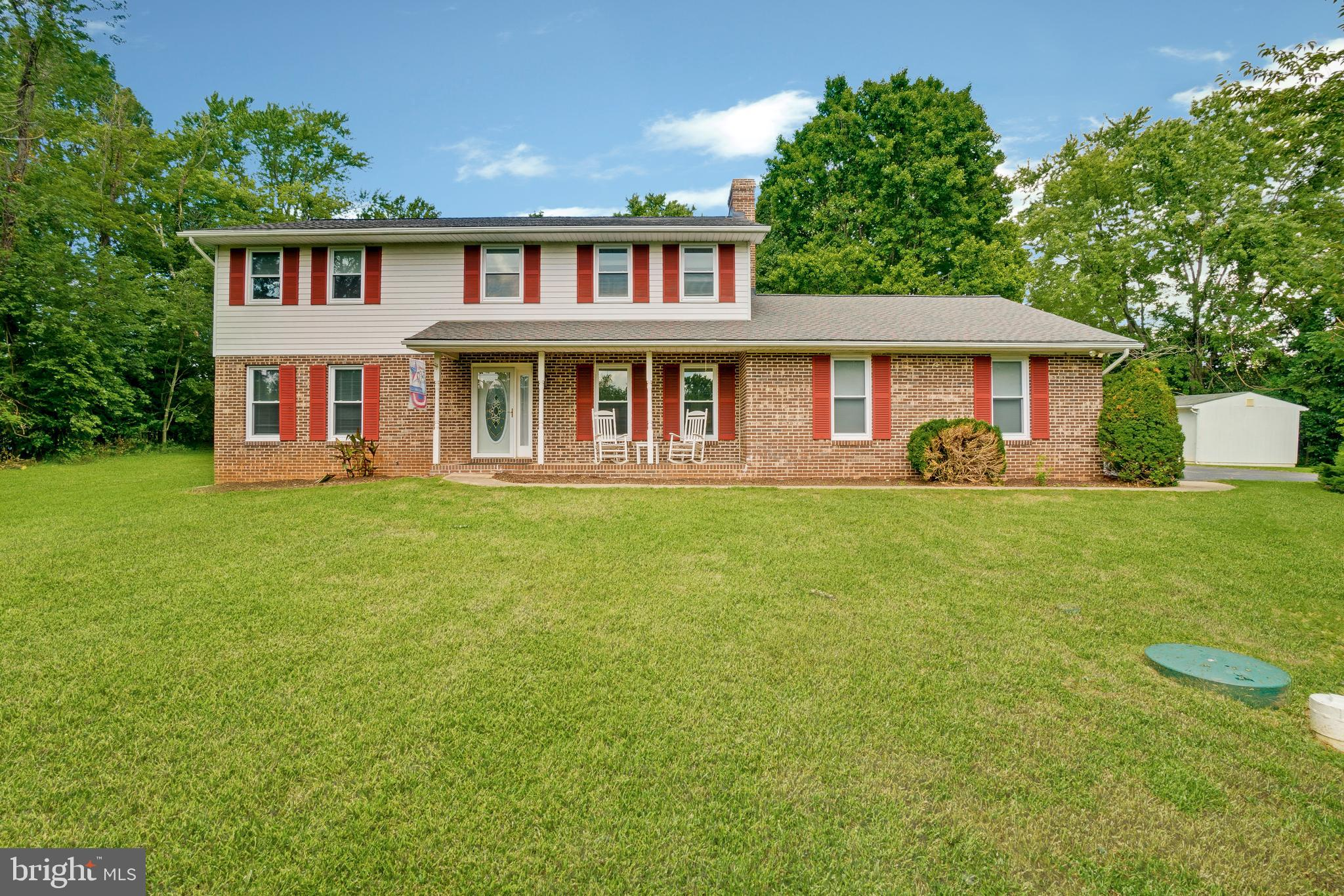Spectacular!!! 4 Bedroom / 2.5 Bath Brick Front Colonial With 2 Car Attached Garage On 1.28 Beautifu
